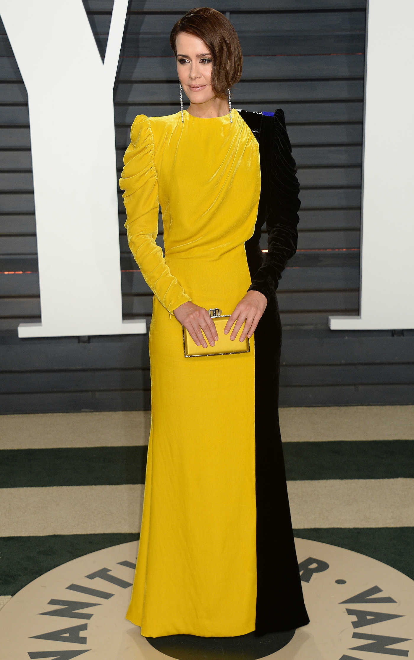 Sarah Paulson at the 2017 Vanity Fair Oscar Party in Beverly Hills 02/26/2017