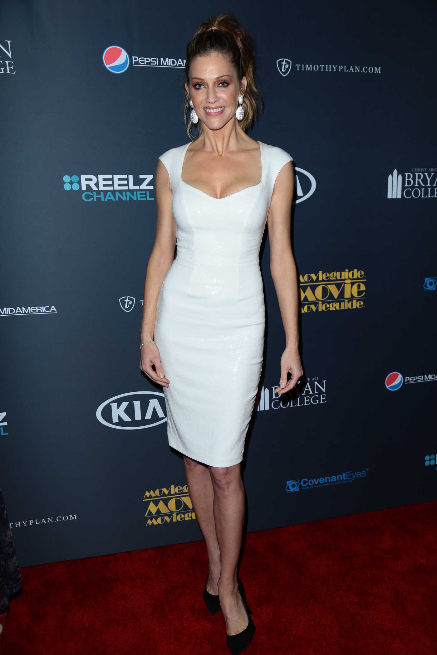 Tricia Helfer at the 25th Annual Movieguide Awards in Universal City 02/10/2017