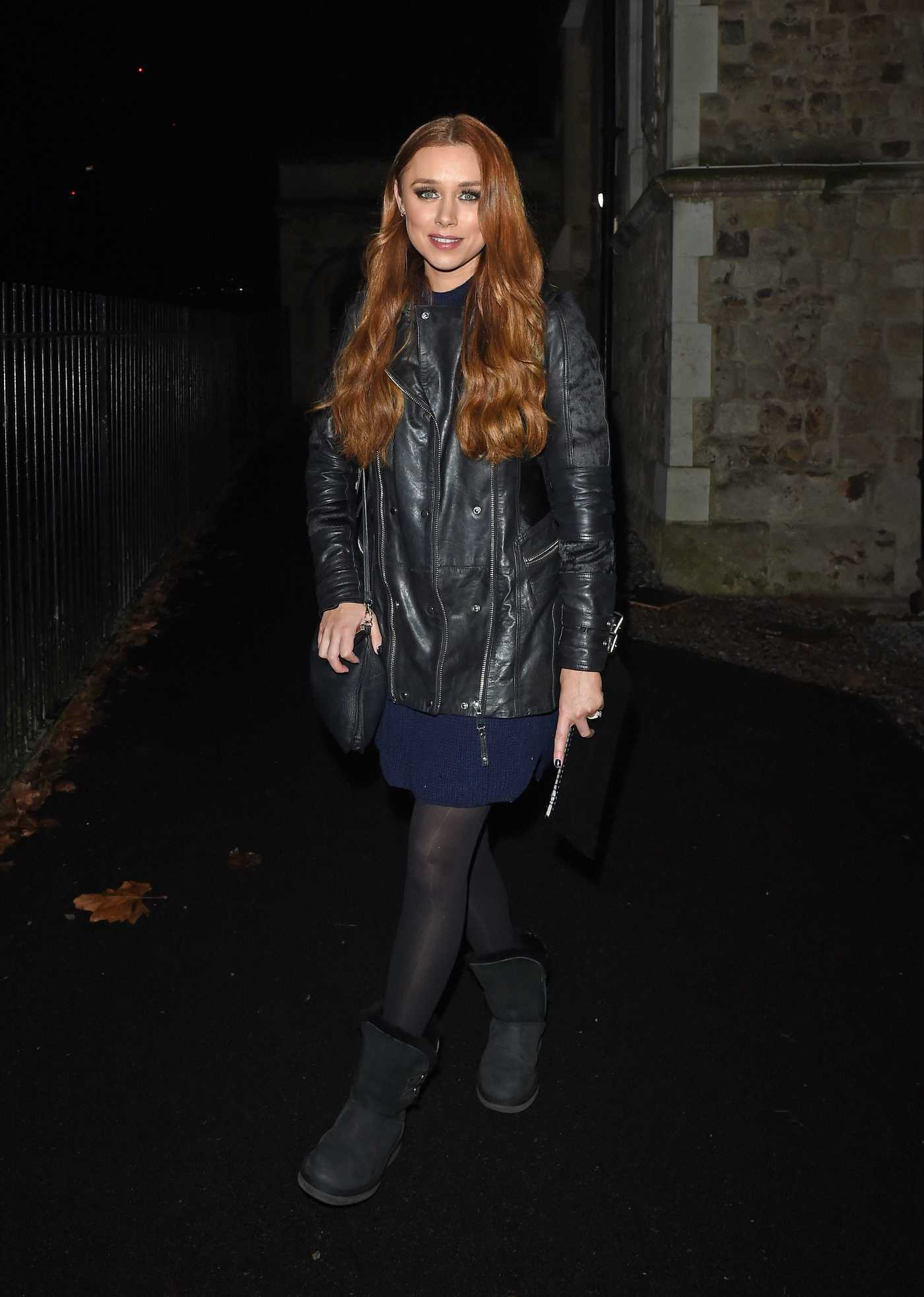 Una Healy Attends Her Gig in London 02/15/2017