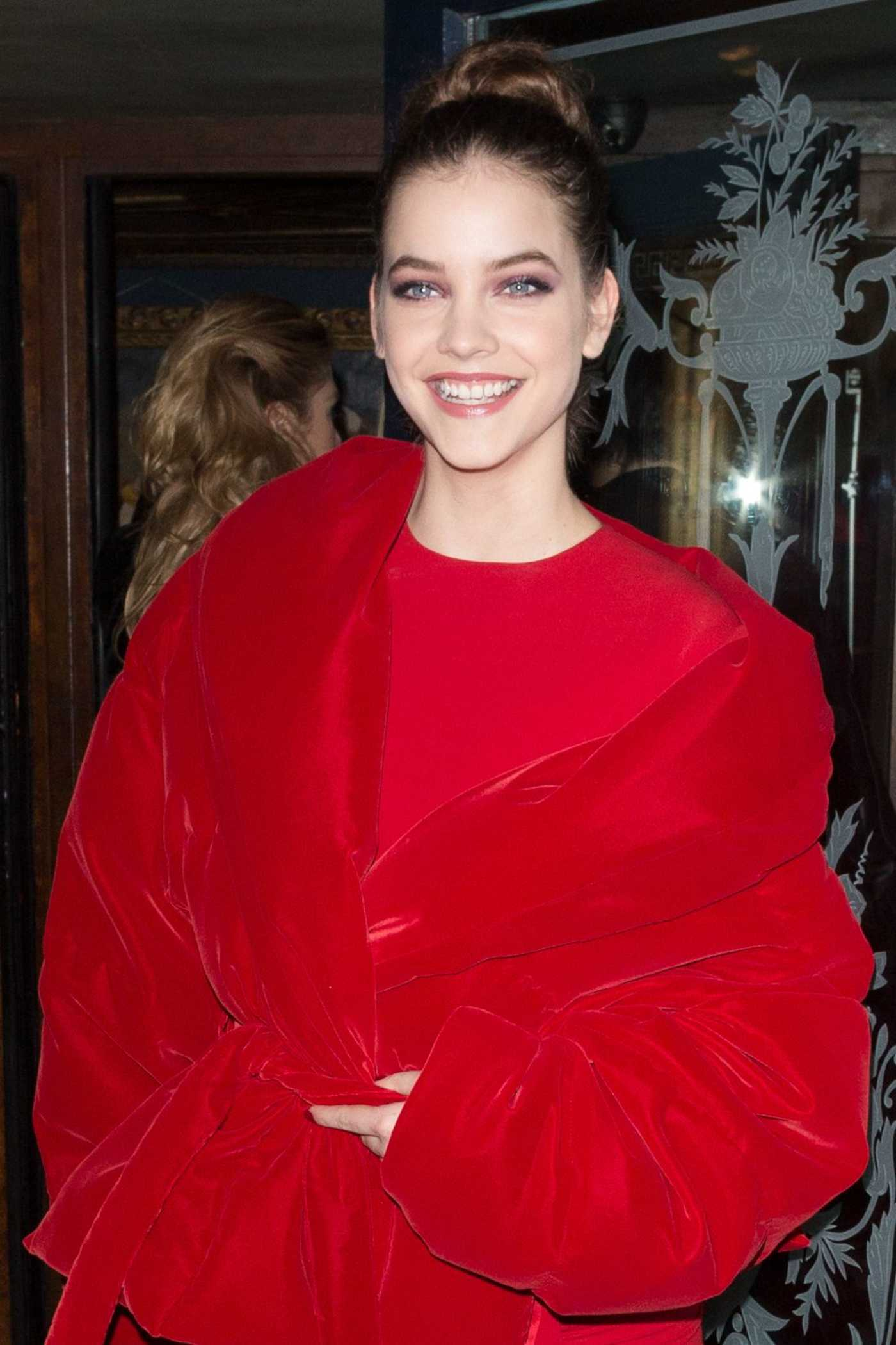 Barbara Palvin at the V Magazine Party in Paris 03/07/2017
