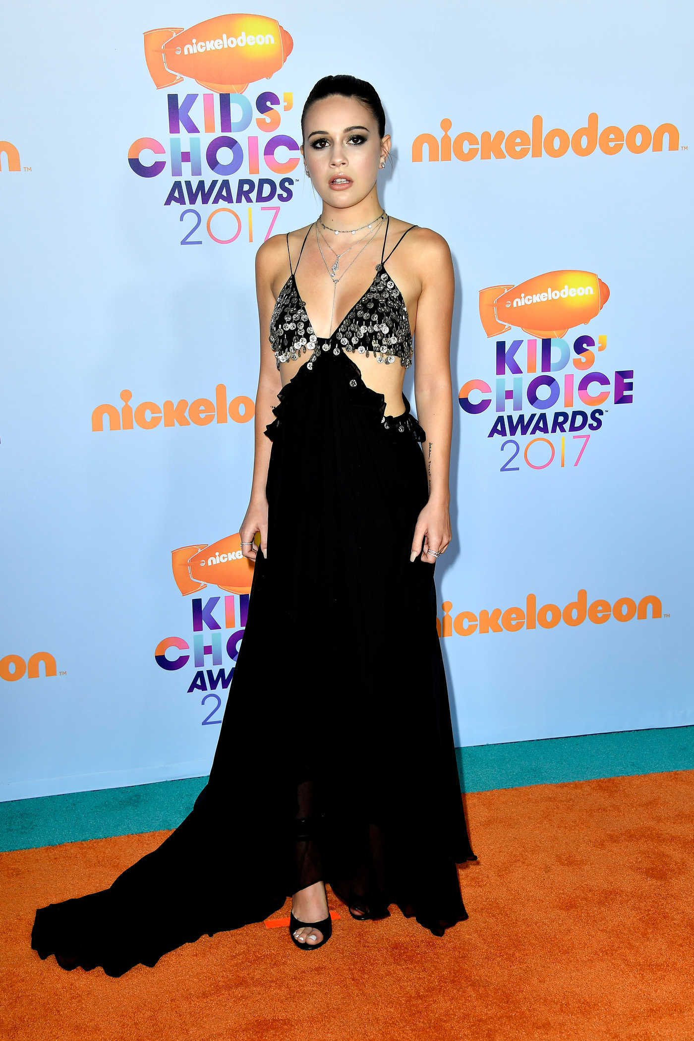 Bea Miller at the 2017 Nickelodeon Kids' Choice Awards in Los Angeles 03/11/2017