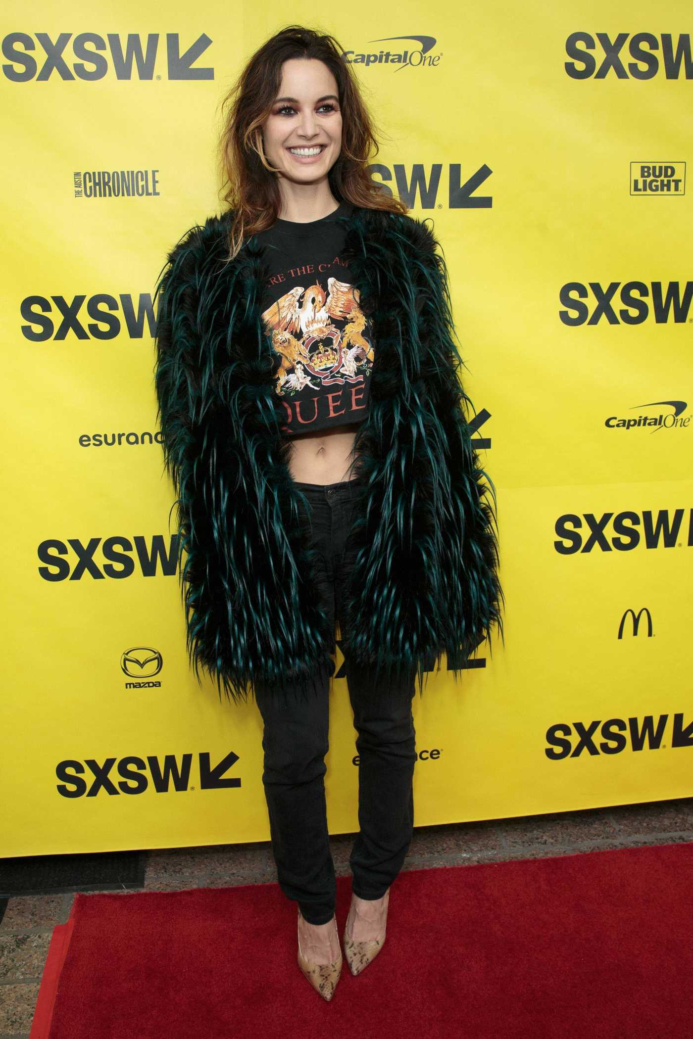 Berenice Marlohe at the Song to Song Premiere During the SXSW Film Festival in Austin 03/10/2017