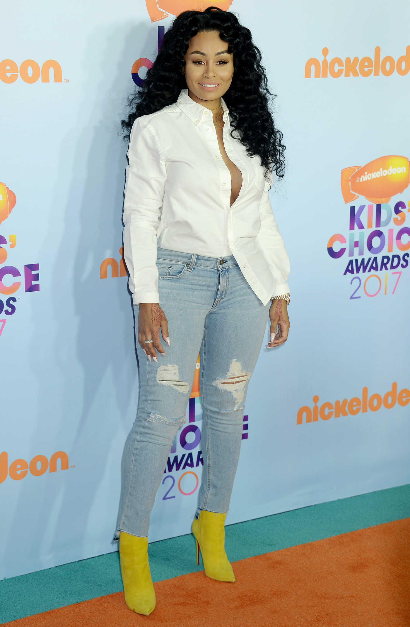 Blac Chyna at the 2017 Nickelodeon Kids' Choice Awards in Los Angeles 03/11/2017