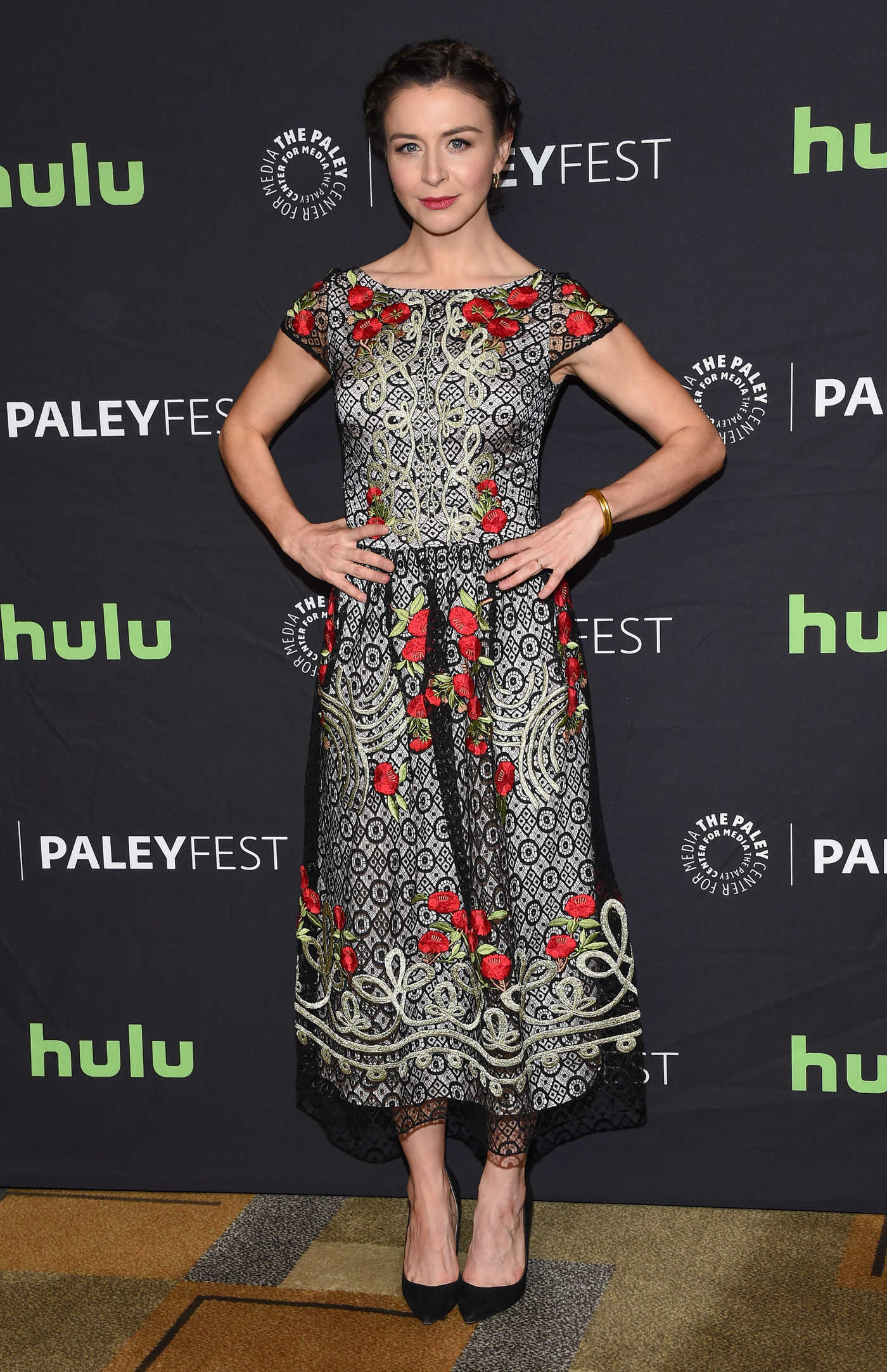Caterina Scorsone at the 34th Annual PaleyFest in Los Angeles 03/19/2017