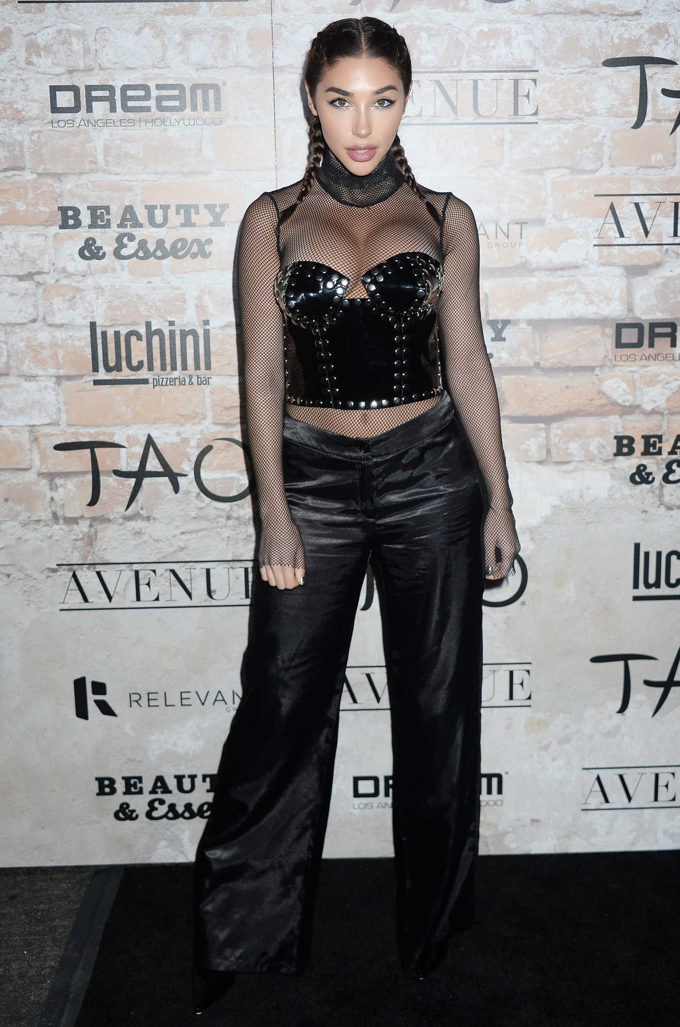 Chantel Jeffries at the TAO, Beauty + Essex, Avenue + Luchini LA Grand Opening 03/16/2017