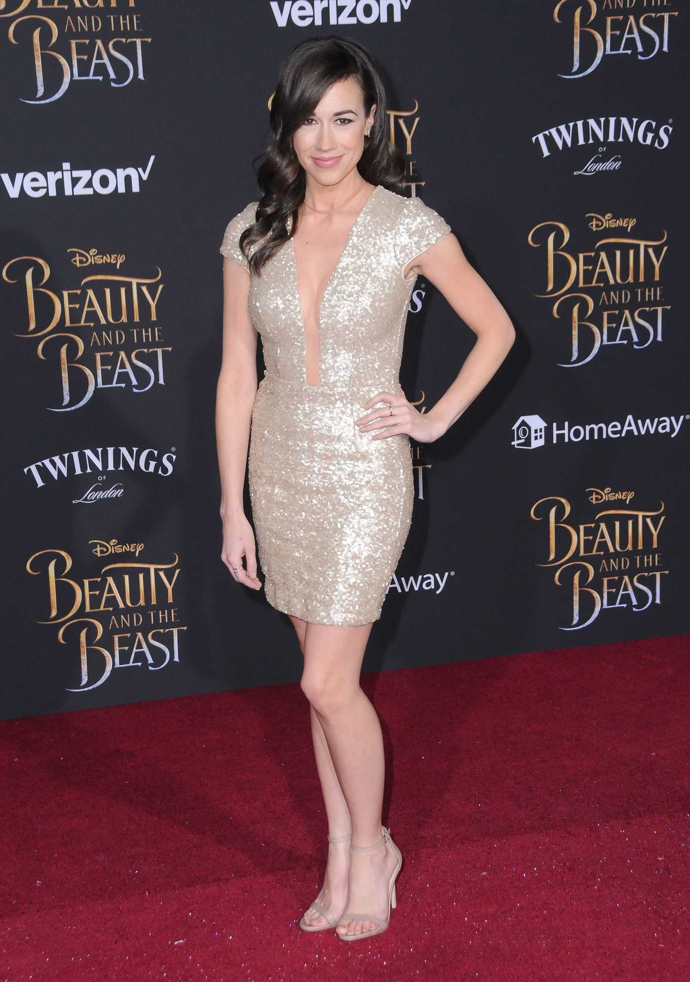 Colleen Ballinger at the Beauty and the Beast Premiere Los Angeles 03/02/2017