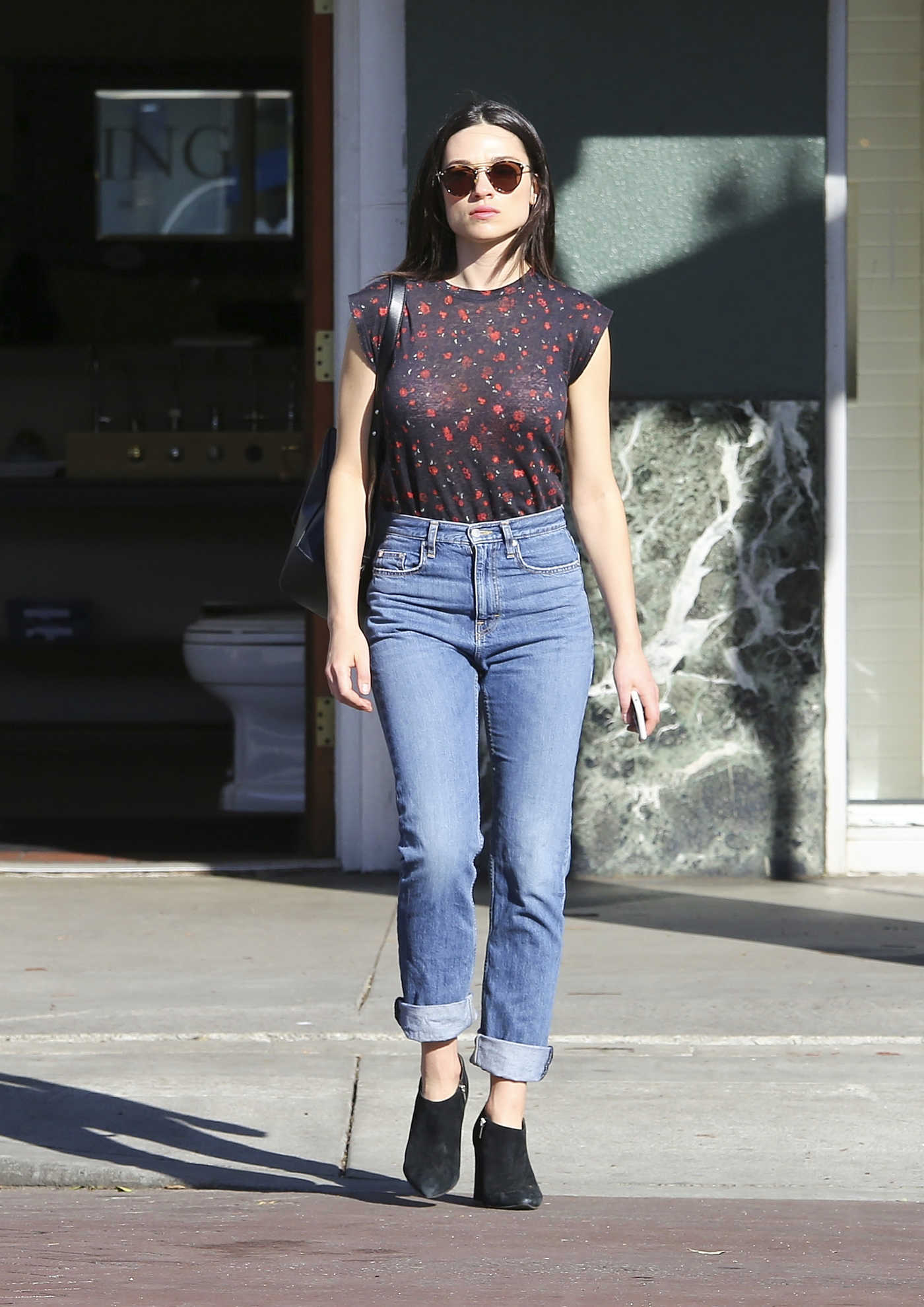 Crystal Reed Was Seen Out in Los Angeles 03/07/2017