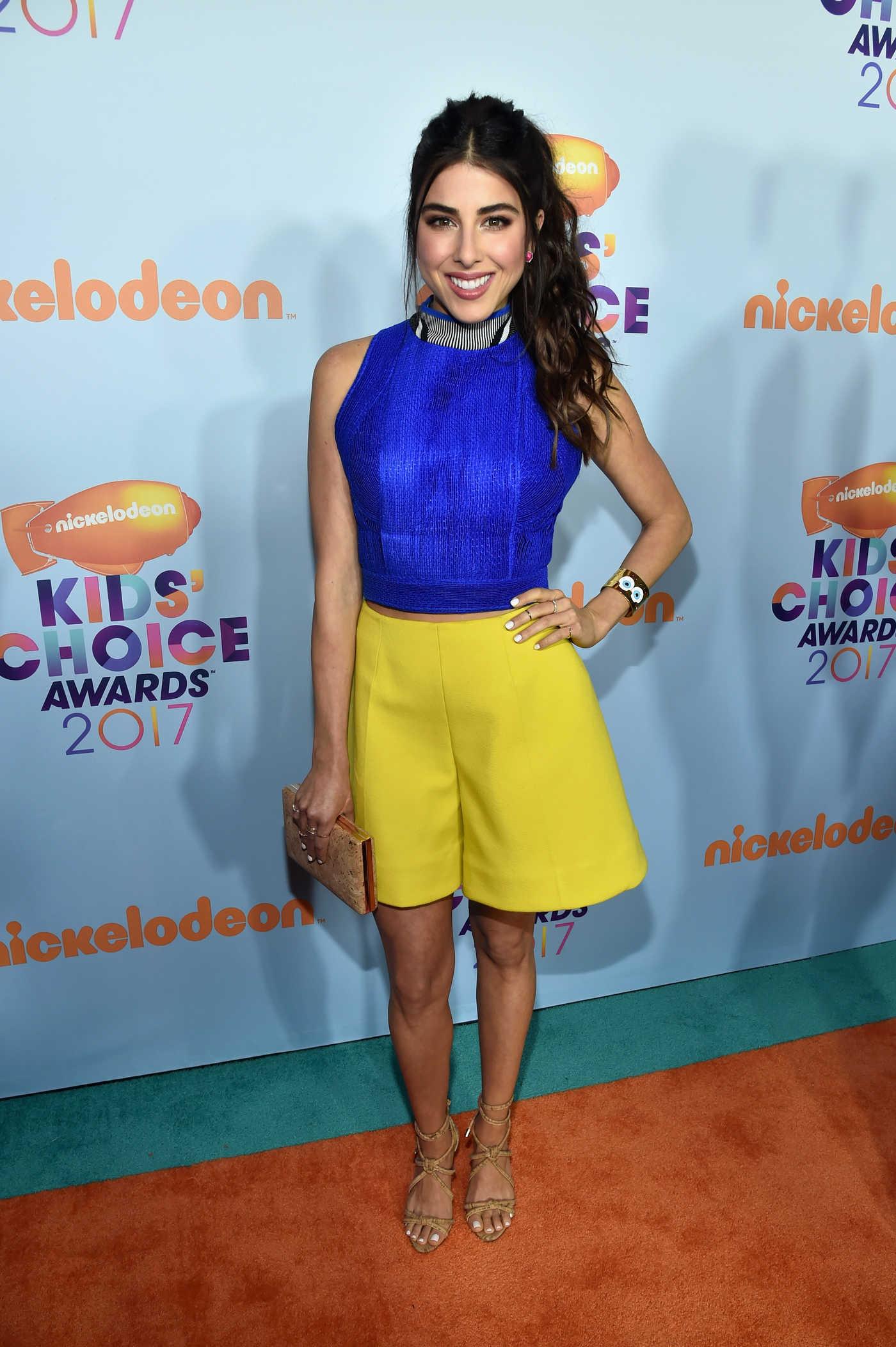 Daniella Monet at the 2017 Nickelodeon Kids' Choice Awards in Los Angeles 03/11/2017