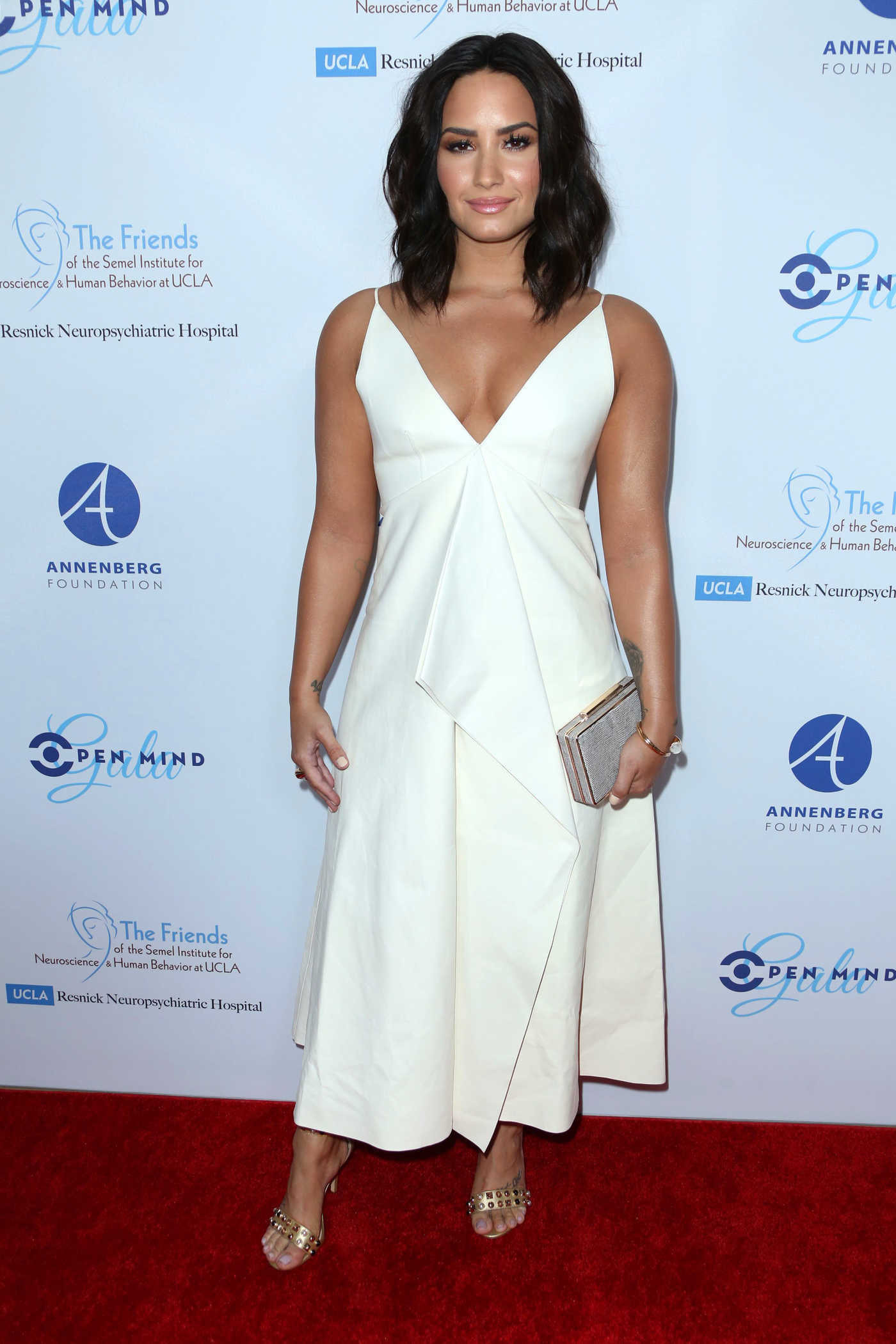 Demi Lovato at Open Mind Gala in Los Angeles 03/22/2017