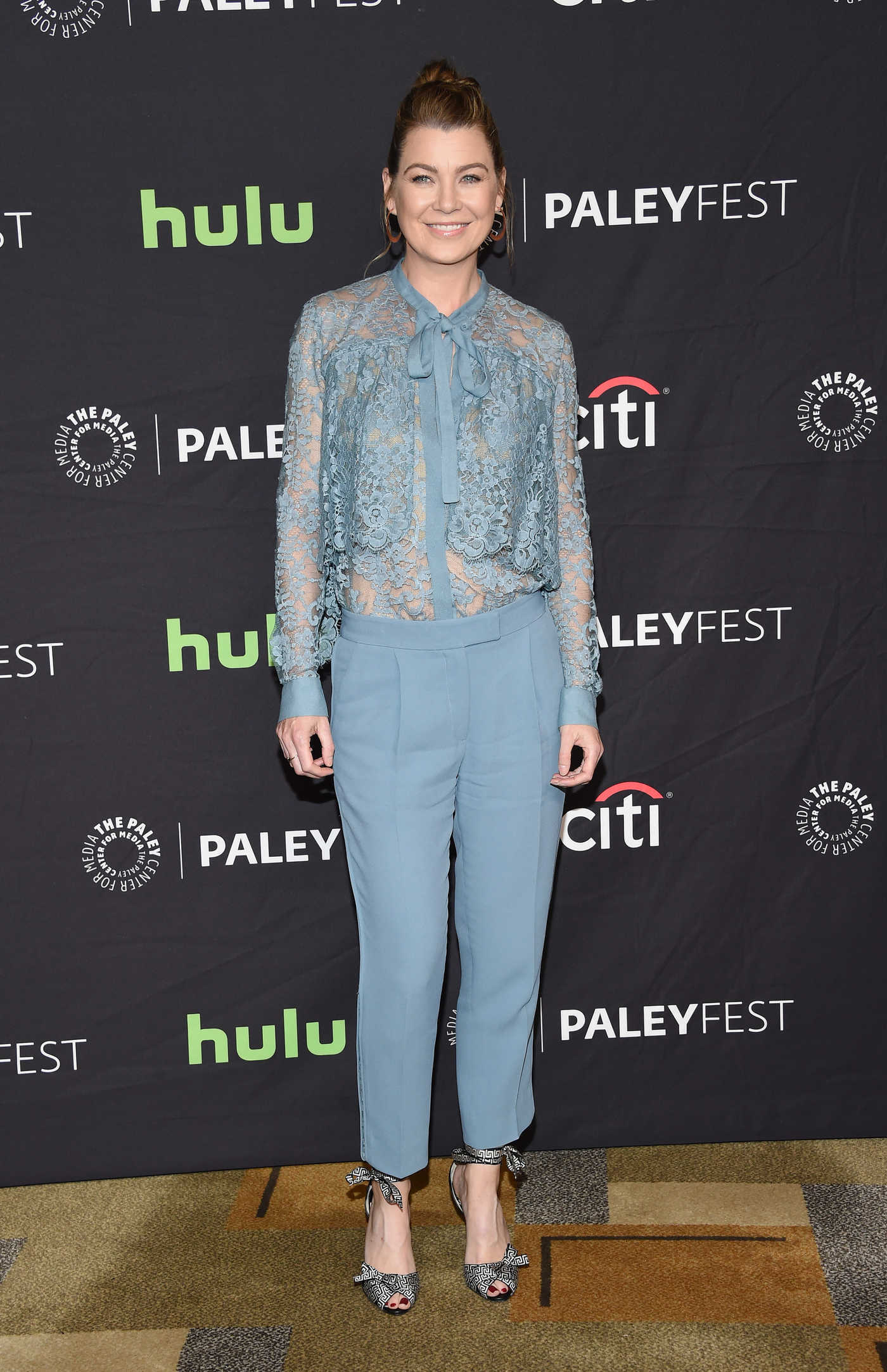 Ellen Pompeo at the 34th Annual PaleyFest in Los Angeles 03/19/2017