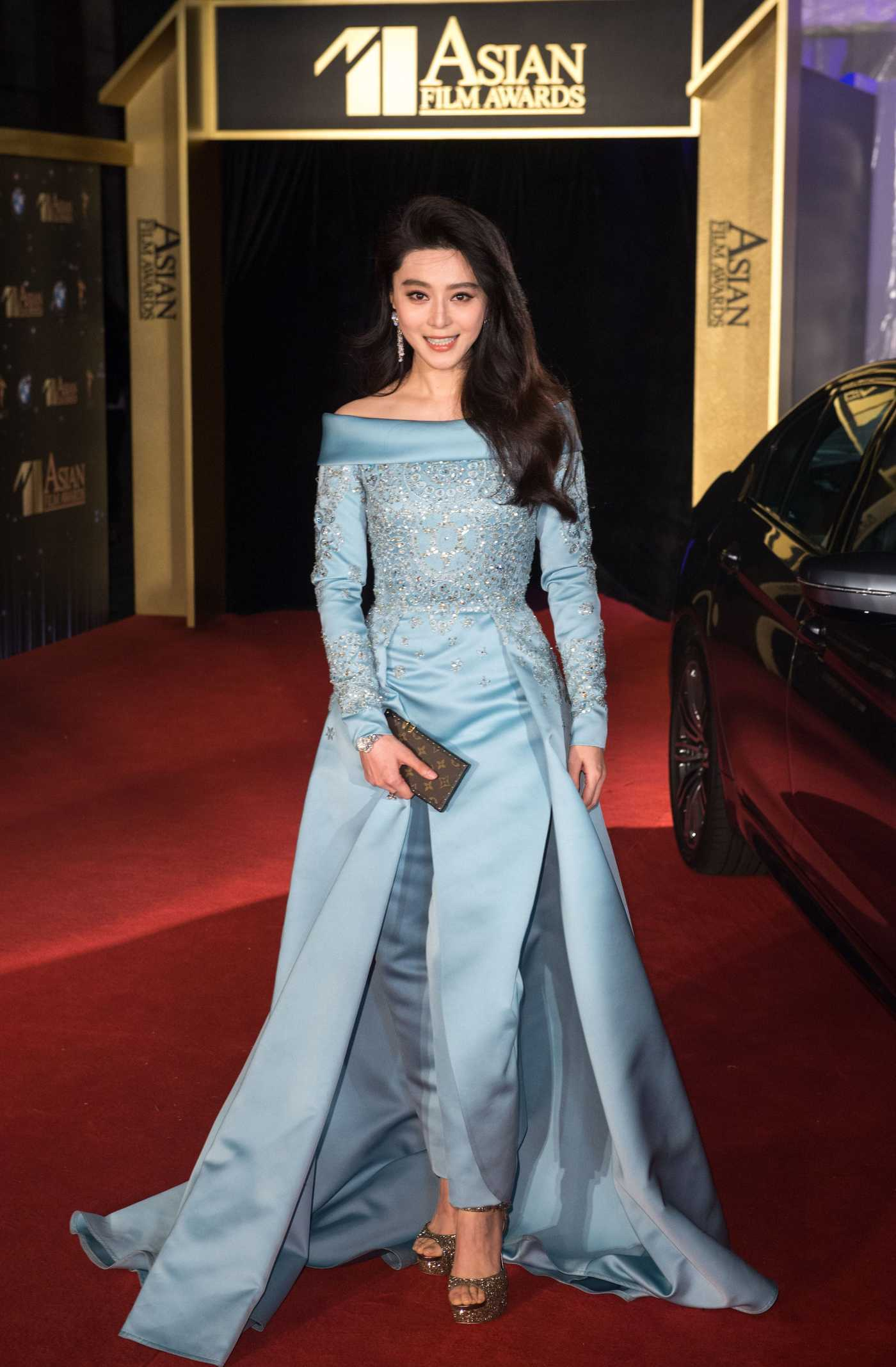 Fan Bingbing at the 11th Asian Film Awards in Hong Kong 03/21/2017