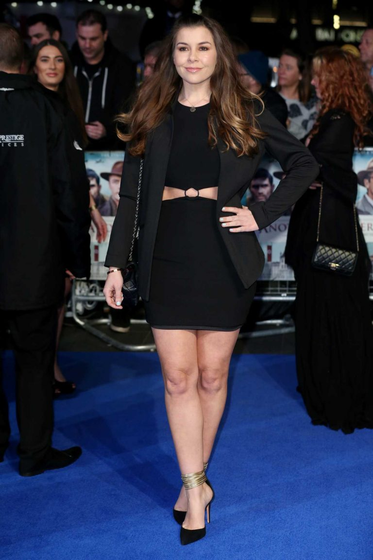 Imogen Thomas at Another Mother's Son Premiere in London 03/16/2017-1
