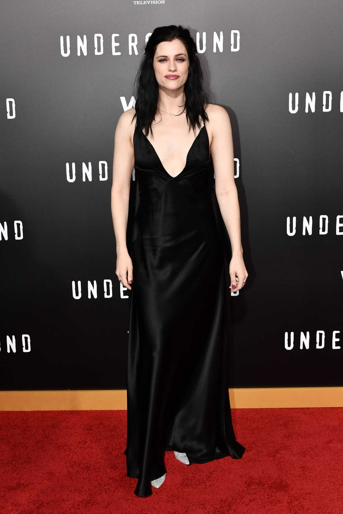 Jessica De Gouw at Underground TV Series Season 2 Premiere in Los Angeles 02/28/2017