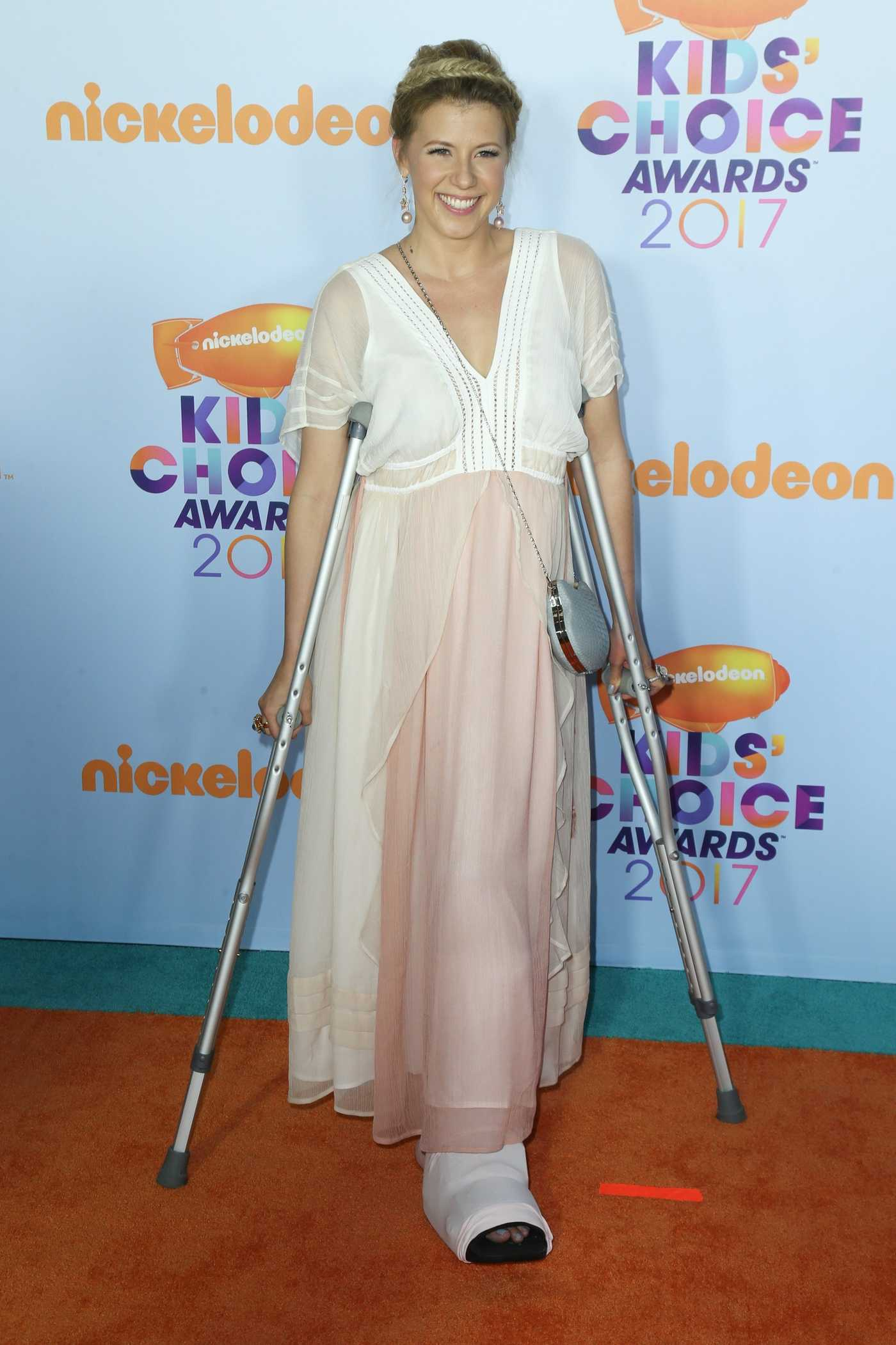 Jodie Sweetin at the 2017 Nickelodeon Kids' Choice Awards in Los Angeles 03/11/2017