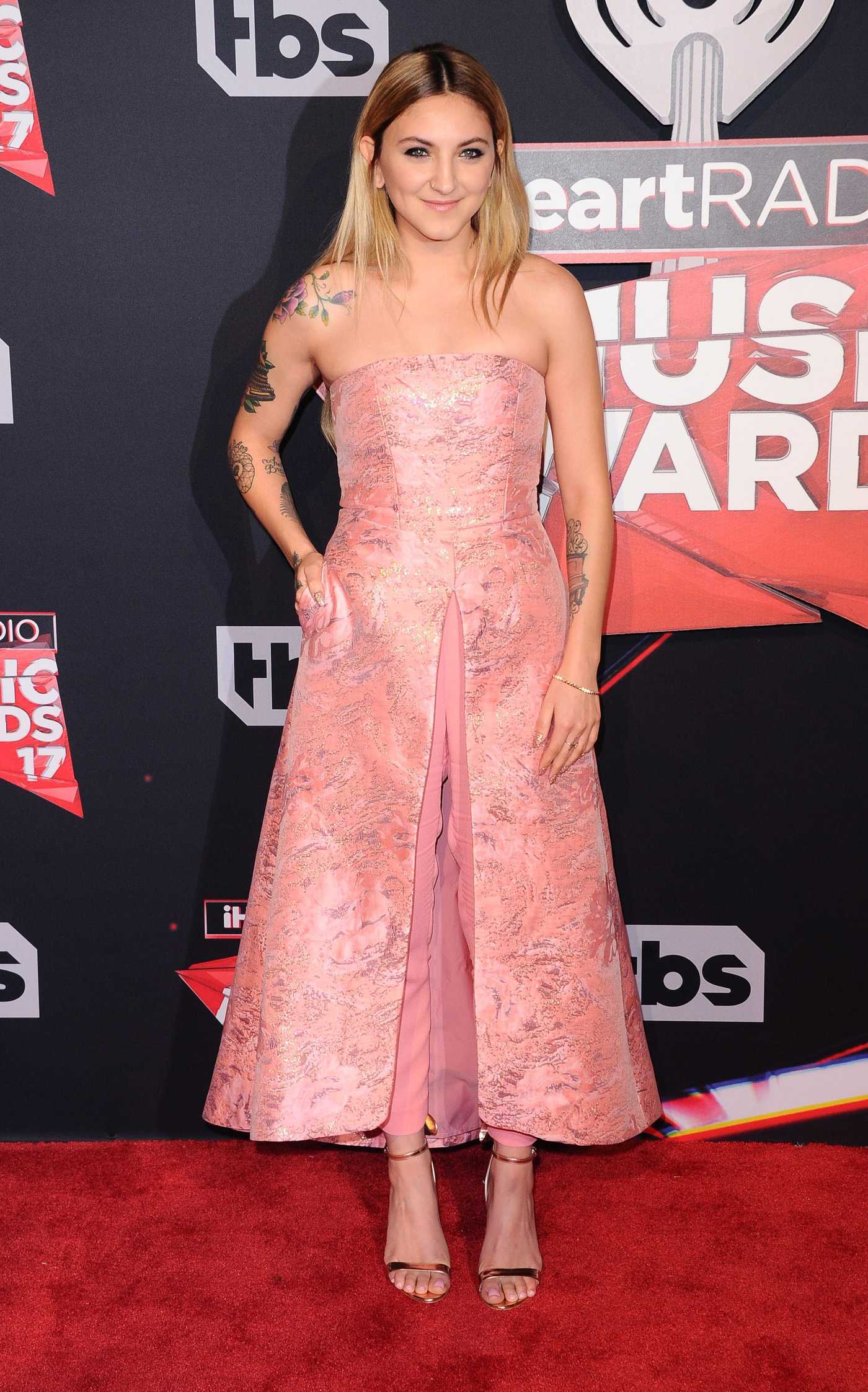 Julia Michaels at the iHeartRadio Music Awards in Los Angeles 03/05/2017