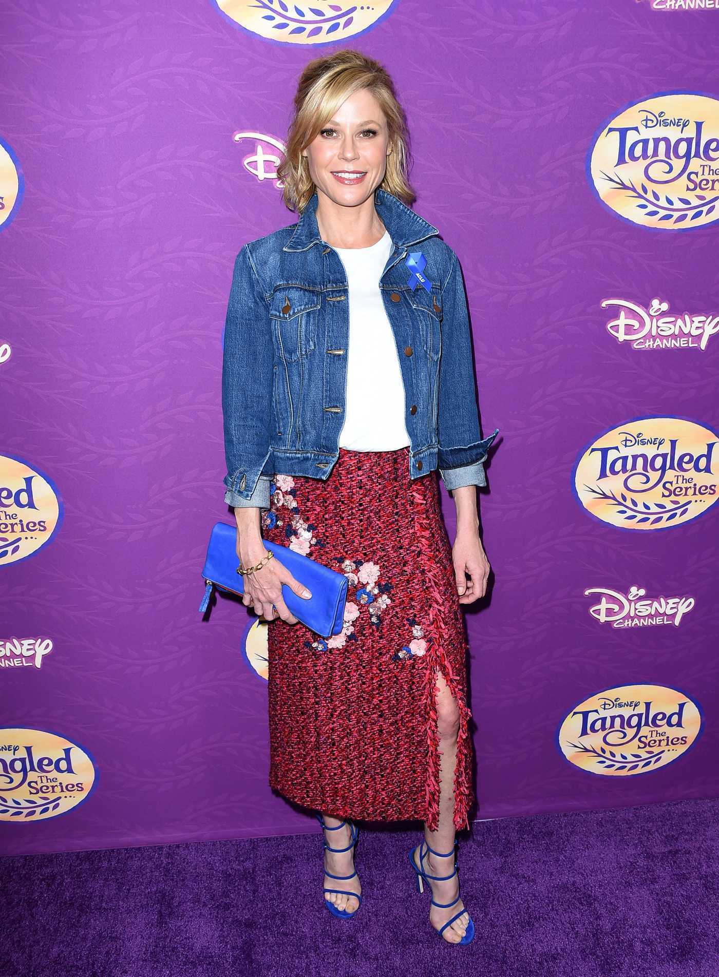 Julie Bowen at the Tangled Before Ever After VIP Screening in Beverly Hills 03/04/2017