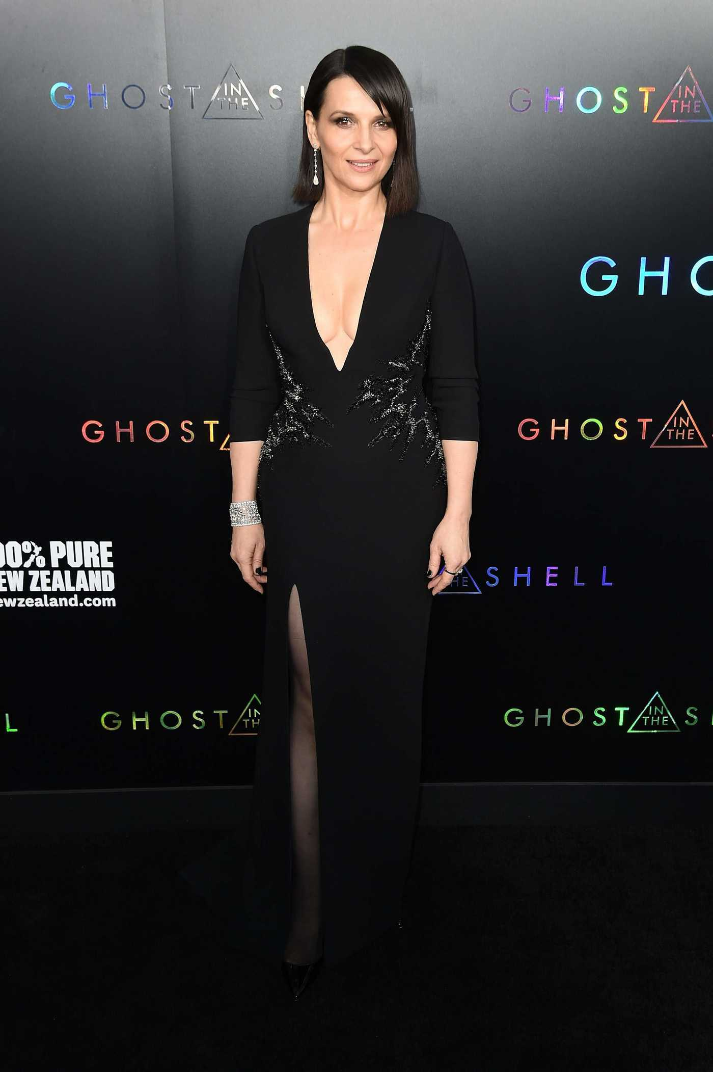 Juliette Binoche at the Ghost in the Shell Premiere in New York 03/29/2017