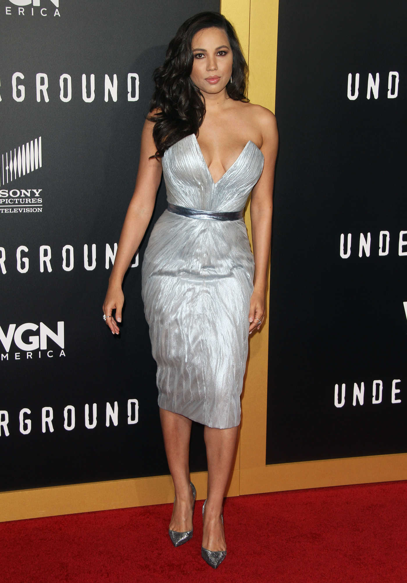 Jurnee Smollett-Bell at Underground TV Series Season 2 Premiere in Los Angeles 02/28/2017