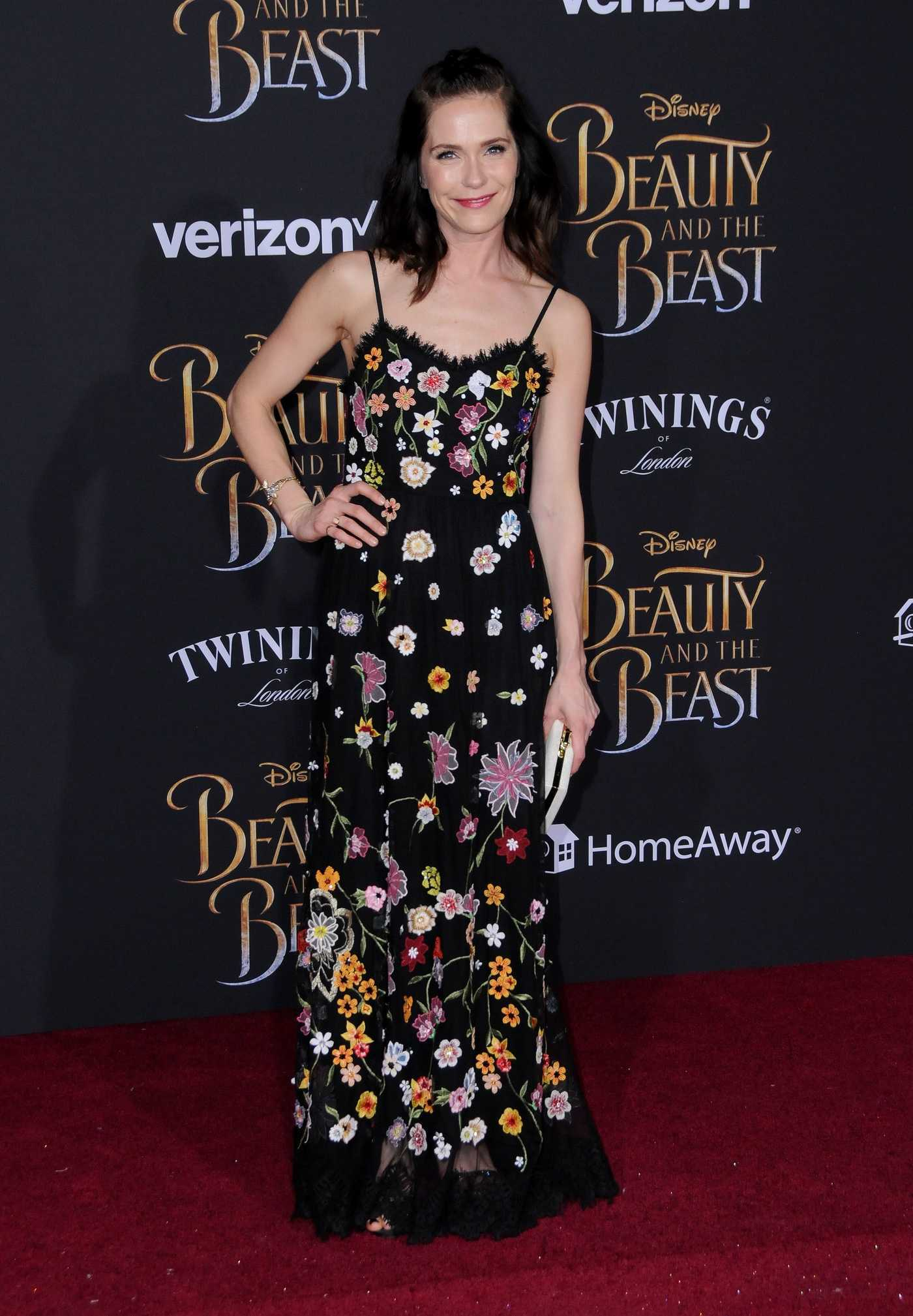 Katie Aselton at the Beauty and the Beast Premiere Los Angeles 03/02/2017
