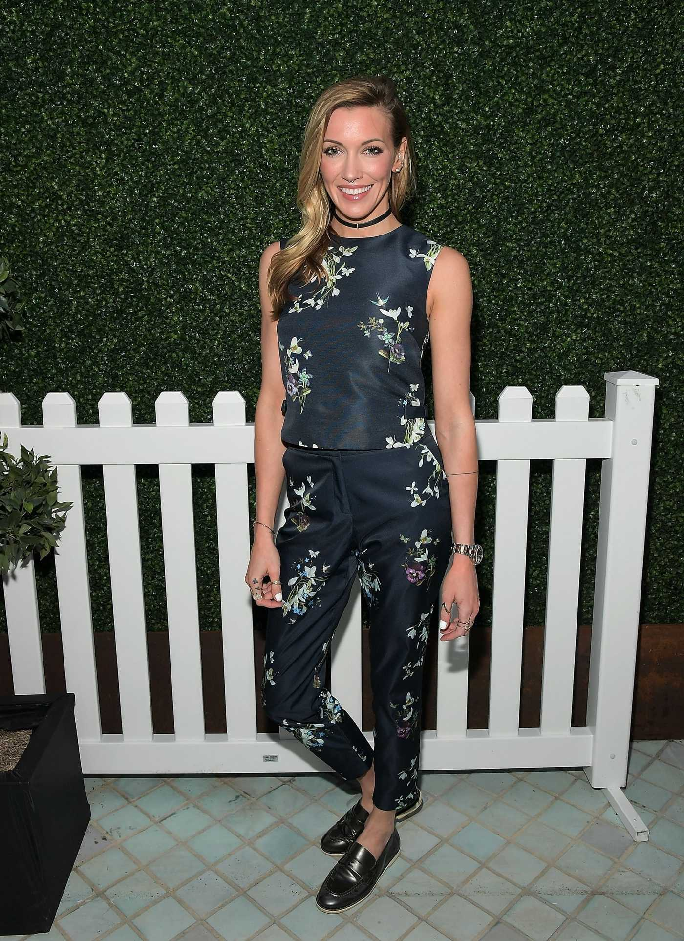 Katie Cassidy at the Ted Baker London  2017 Spring/ Summer Launch Dinner in West Hollywood 03/16/2017