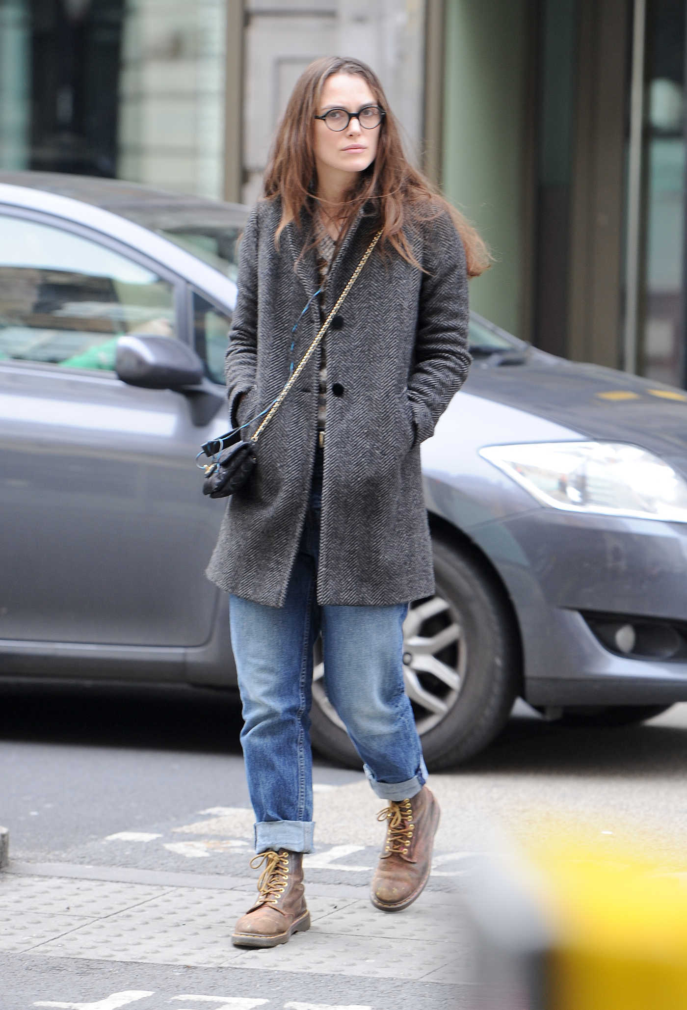 Keira Knightley Was Seen Out in Central London 03/23/2017
