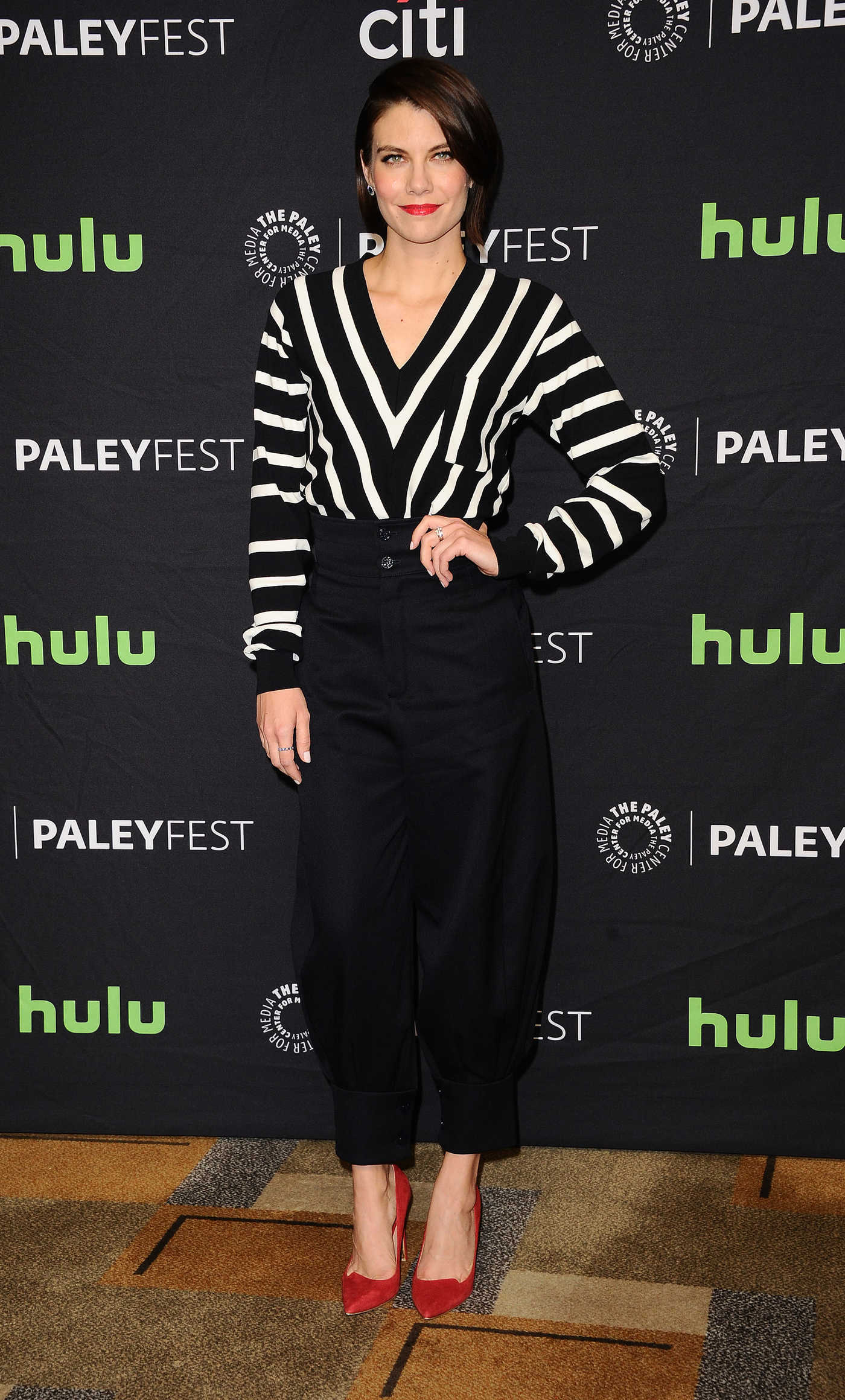 Lauren Cohan at The Walking Dead Presentation During the 34th Annual PaleyFest in LA 03/17/2017