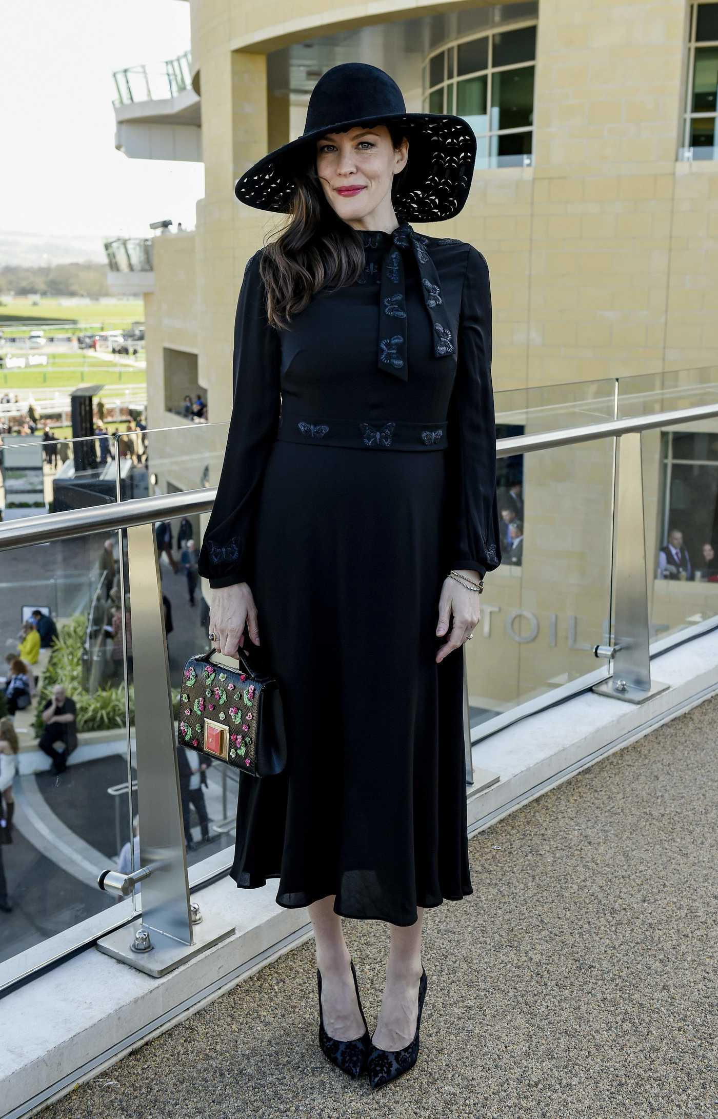 Liv Tyler Was Seen at Cheltenham Festival in London 03/15/2017