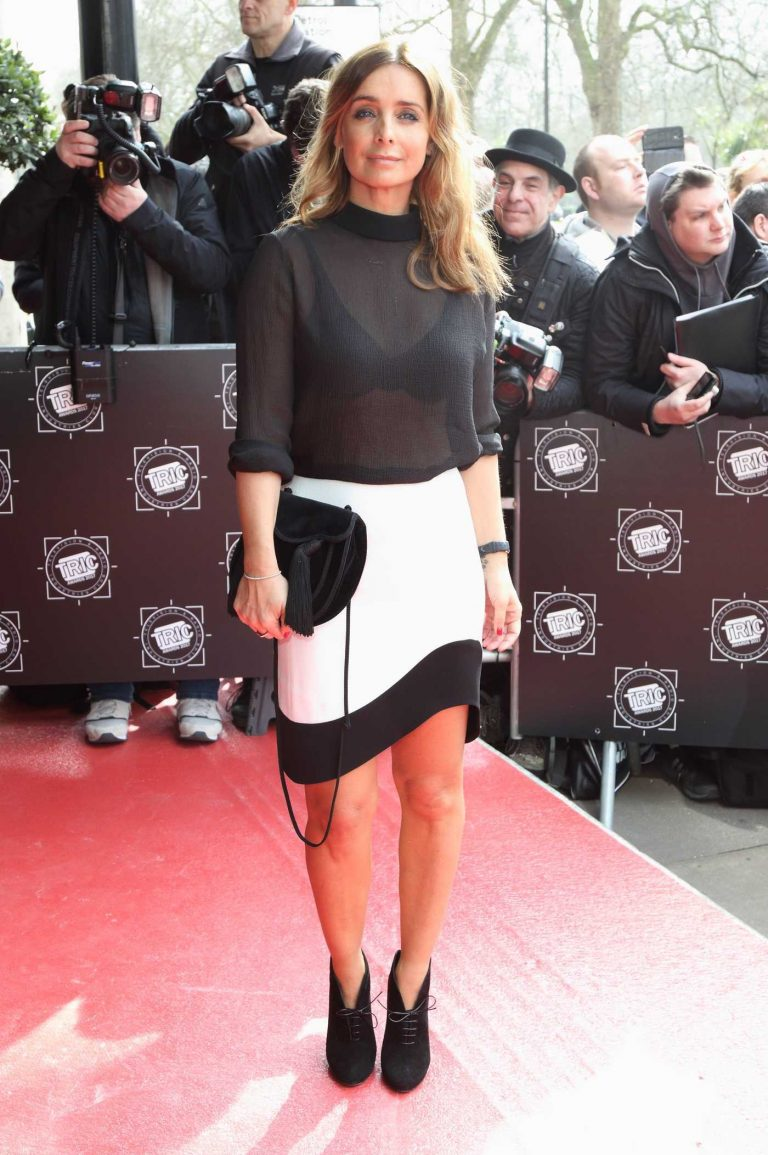 Louise Redknapp at the Tric Awards at Grosvenor House in London 03/14/2017-1
