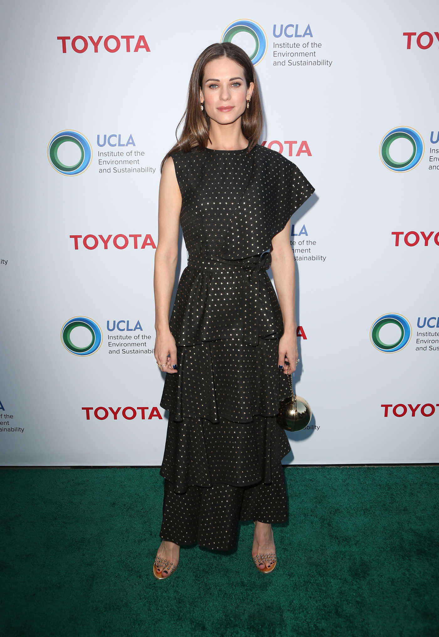 Lyndsy Fonseca at UCLA Institute of the Environment and Sustainability Gala in Los Angeles 03/13/2017