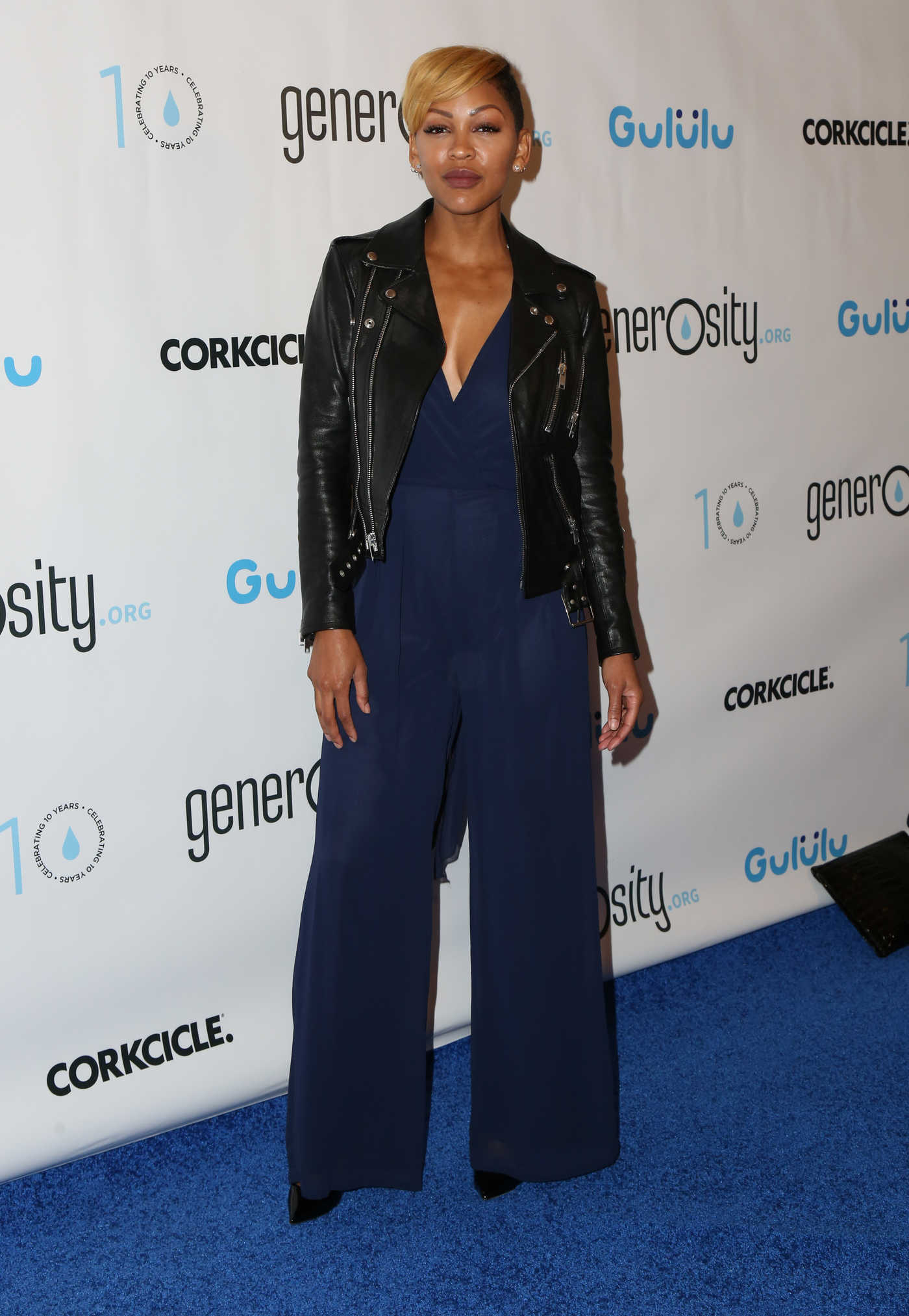 Meagan Good at a Night of Generosity Celebrating World Water Day in Los Angeles 03/21/2017