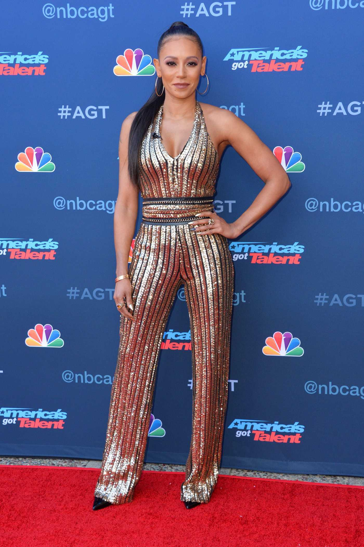 Melanie Brown at America's Got Talent Season 12 Kick off Event in Los Angeles 03/27/2017