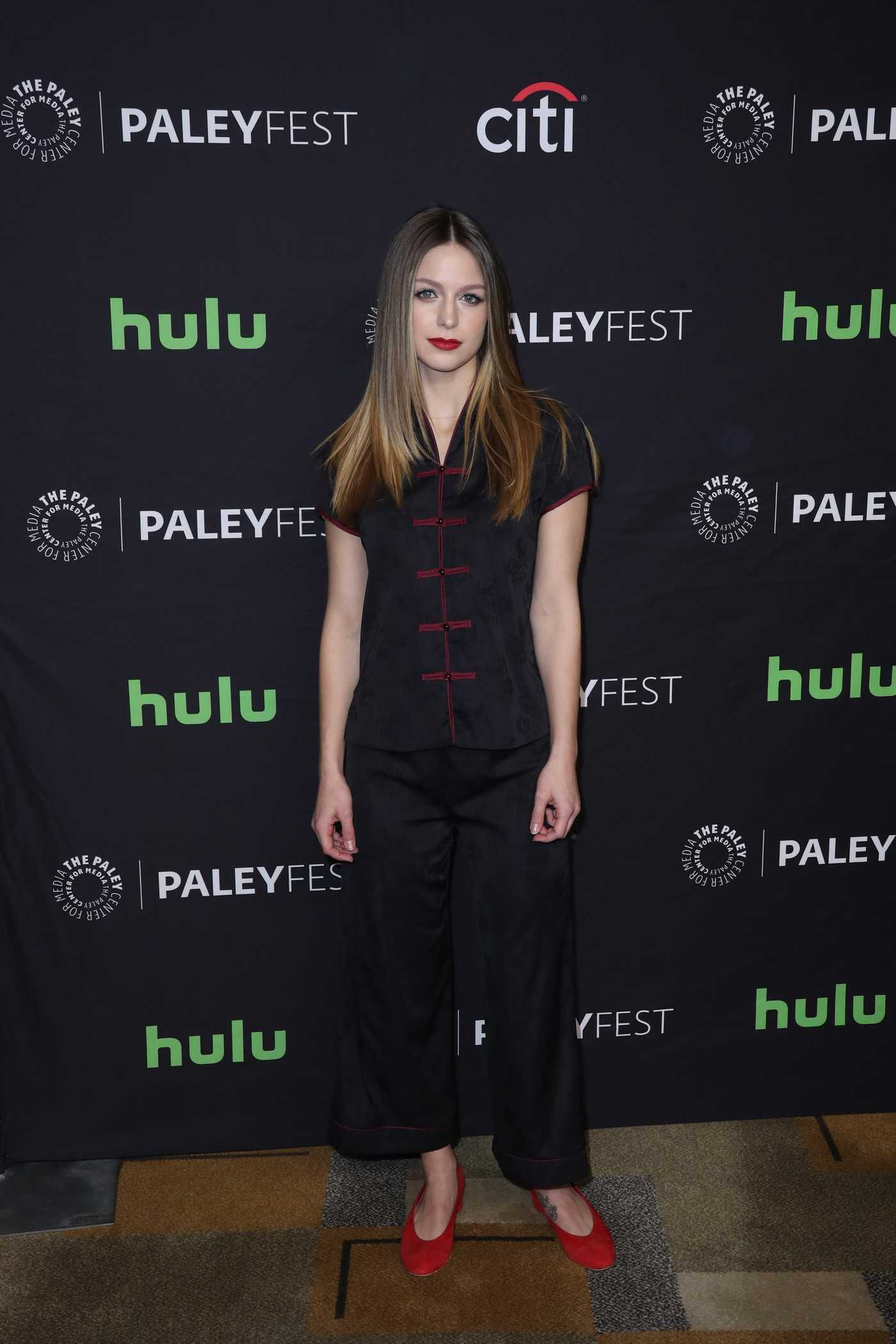 Melissa Benoist at the PaleyFest LA: CW's Heroes and Aliens in Hollywood 03/18/2017