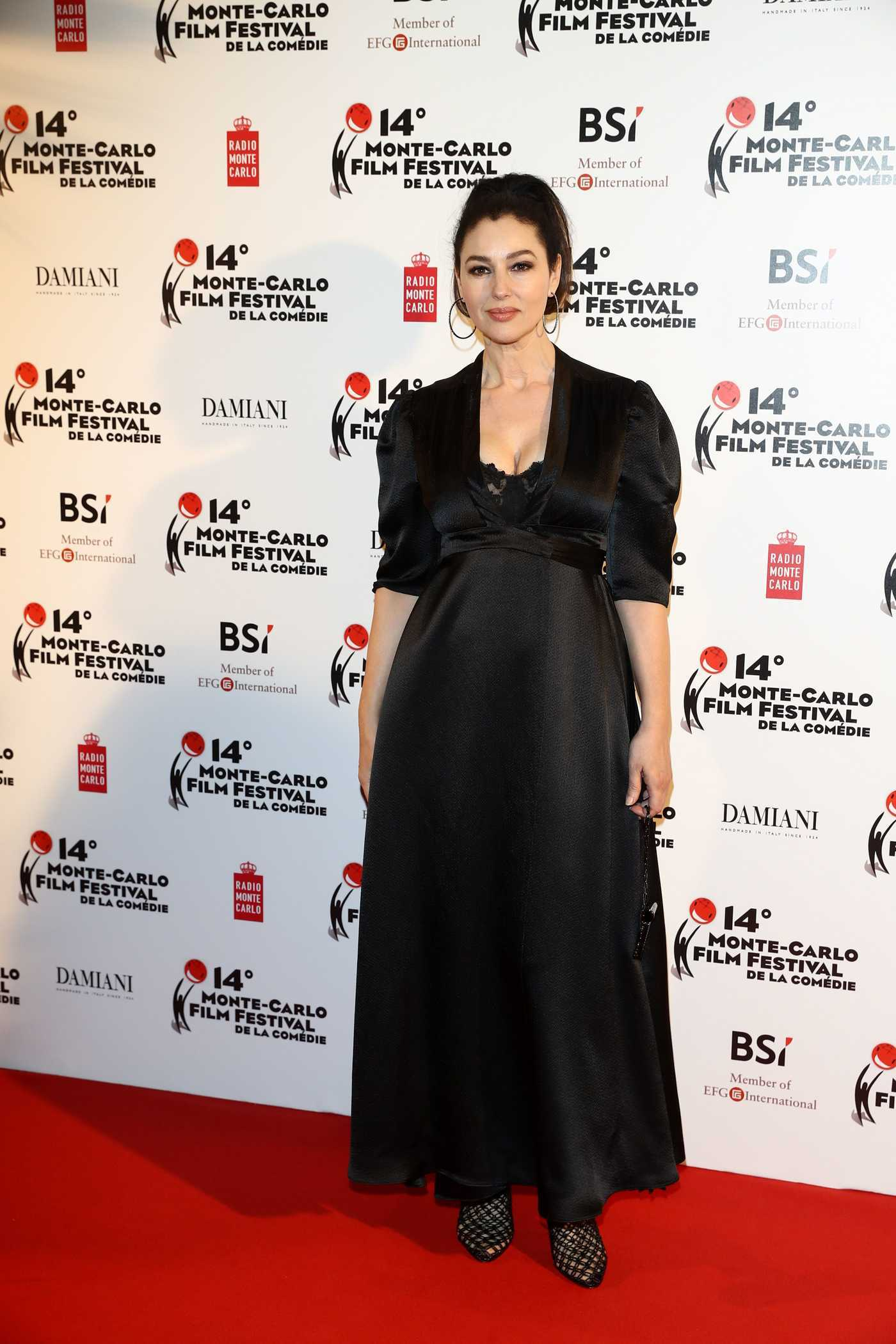 Monica Bellucci at the Monte Carlo Film Festival of the Comedy Gala Dinner 03/05/2017