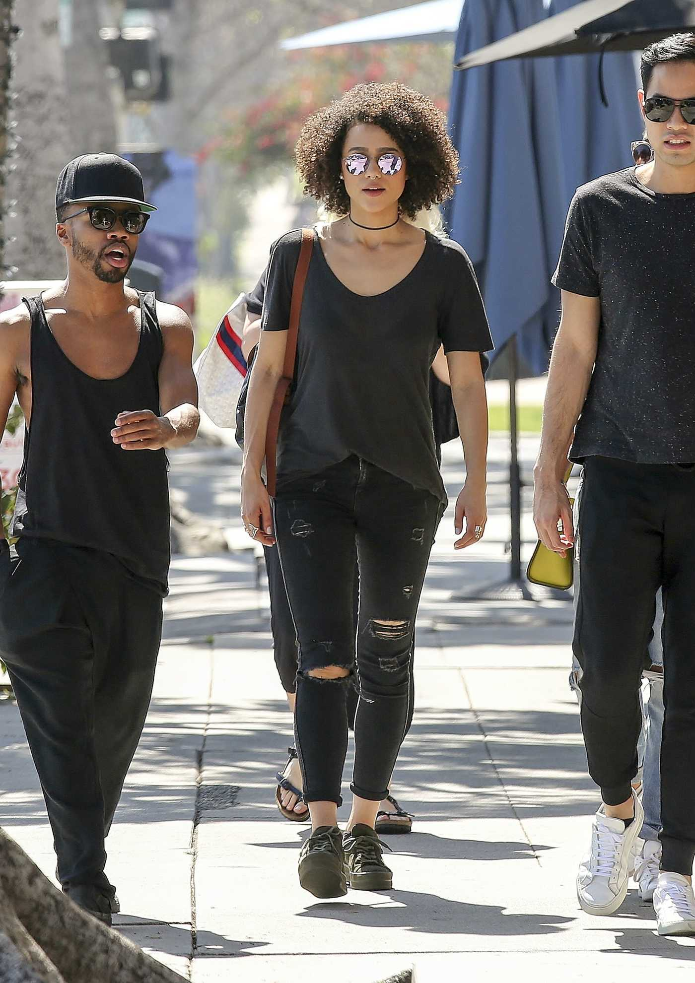 Nathalie Emmanuel Was Seen Out in Los Angeles 03/13/2017