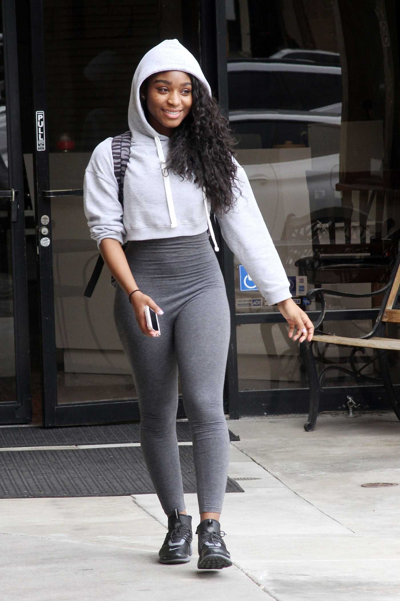 Normani Kordei Was Seen Out in Los Angeles 03/05/2017