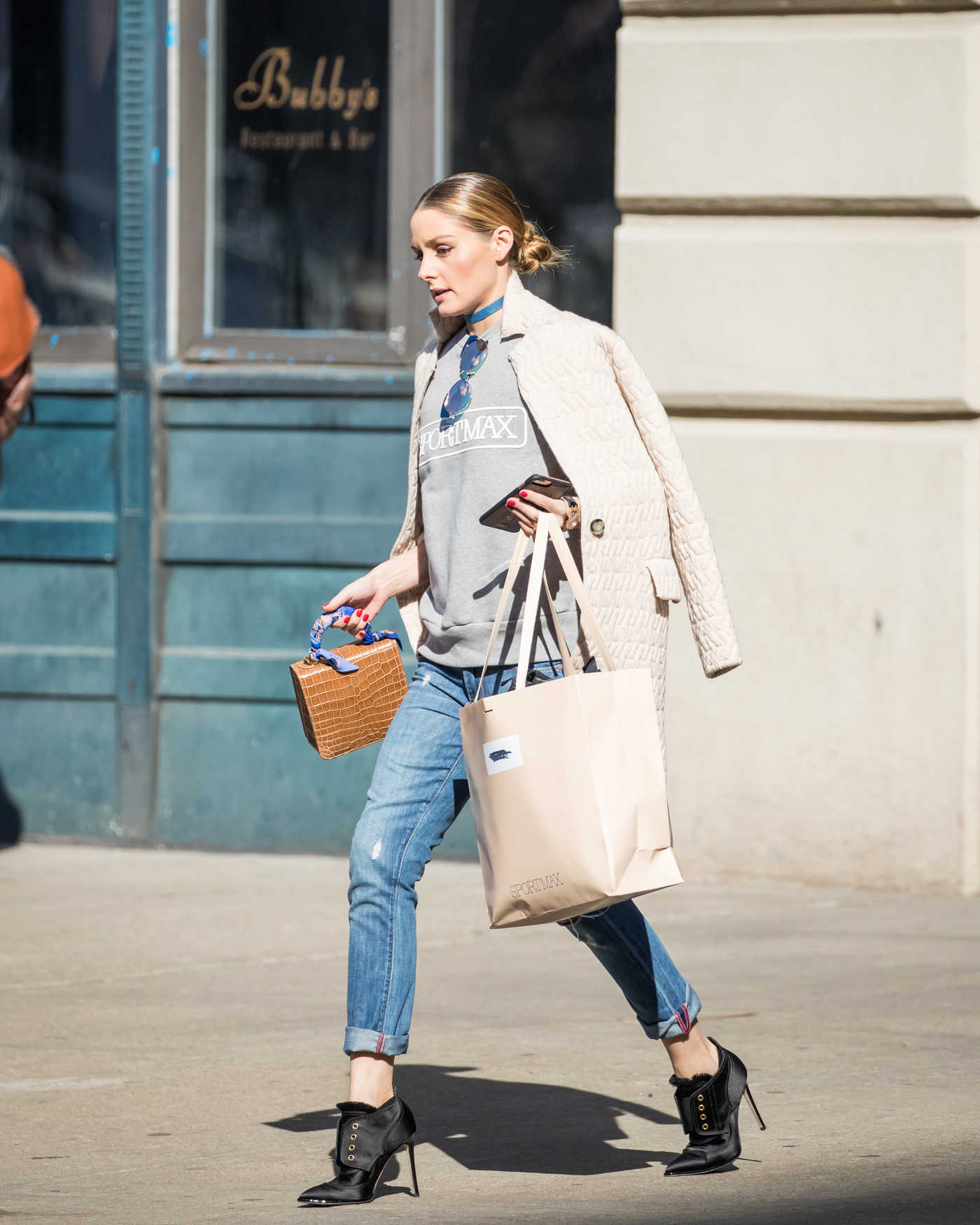 Olivia Palermo Was Seen Out in New York 03/09/2017