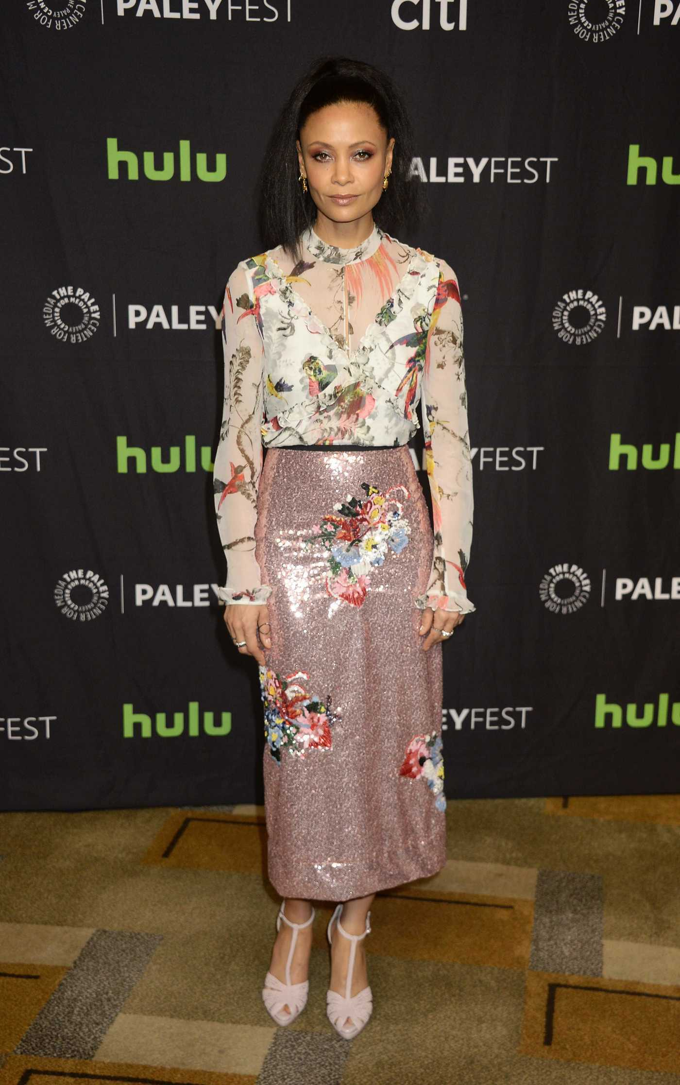 Thandie Newton at the Westworld Screening During the Paleyfest LA in Los Angeles 03/25/2017