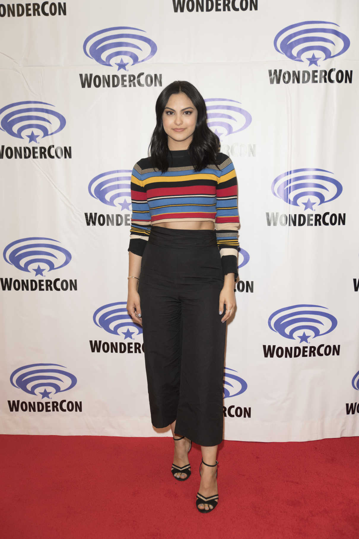 Camila Mendes at the Riverdale Press Room at WonderCon in Anaheim 04/01/2017