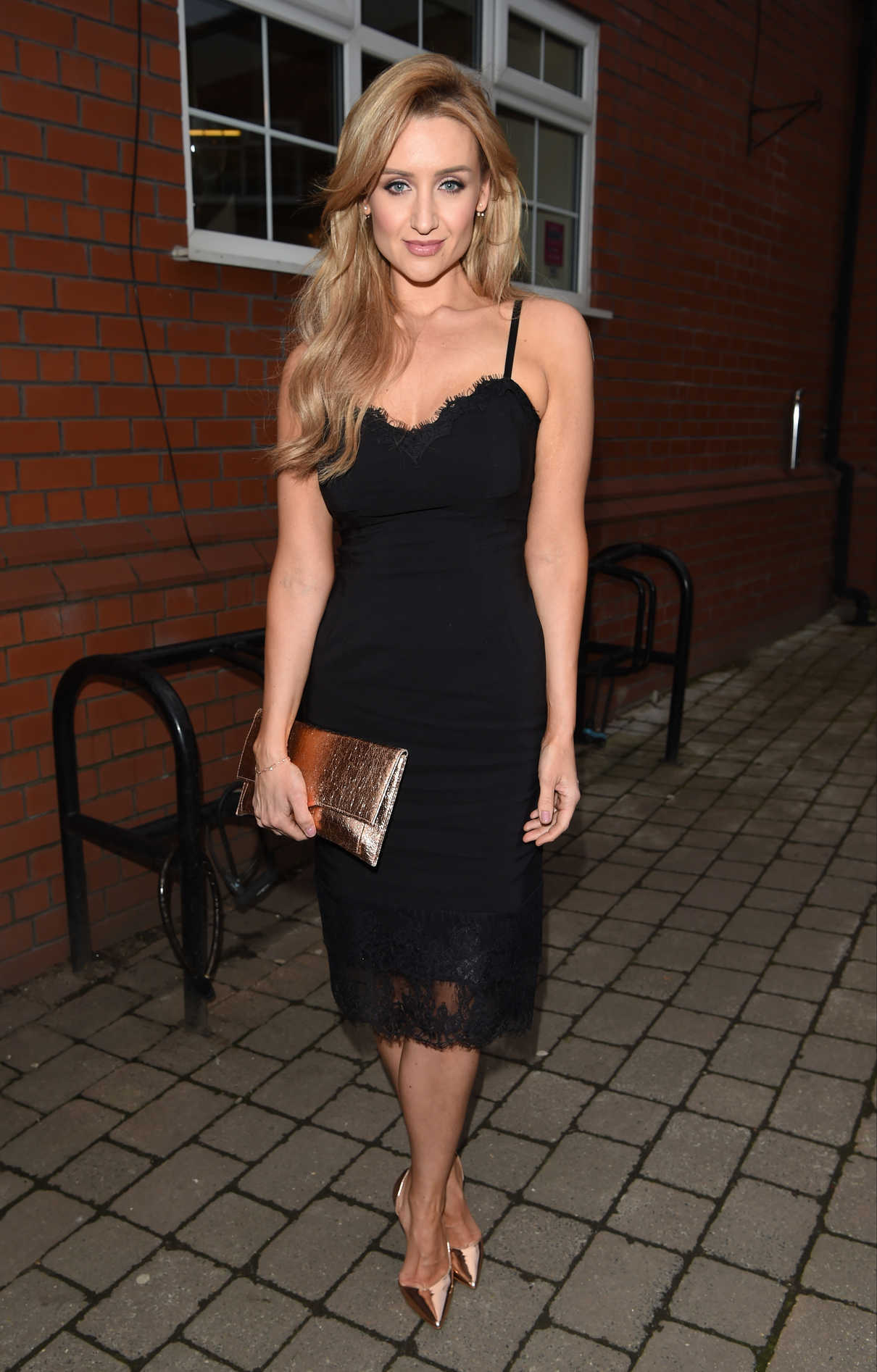 Catherine Tyldesley at the Bleakholt Animal Charity Ball in Bury 04/01/2017