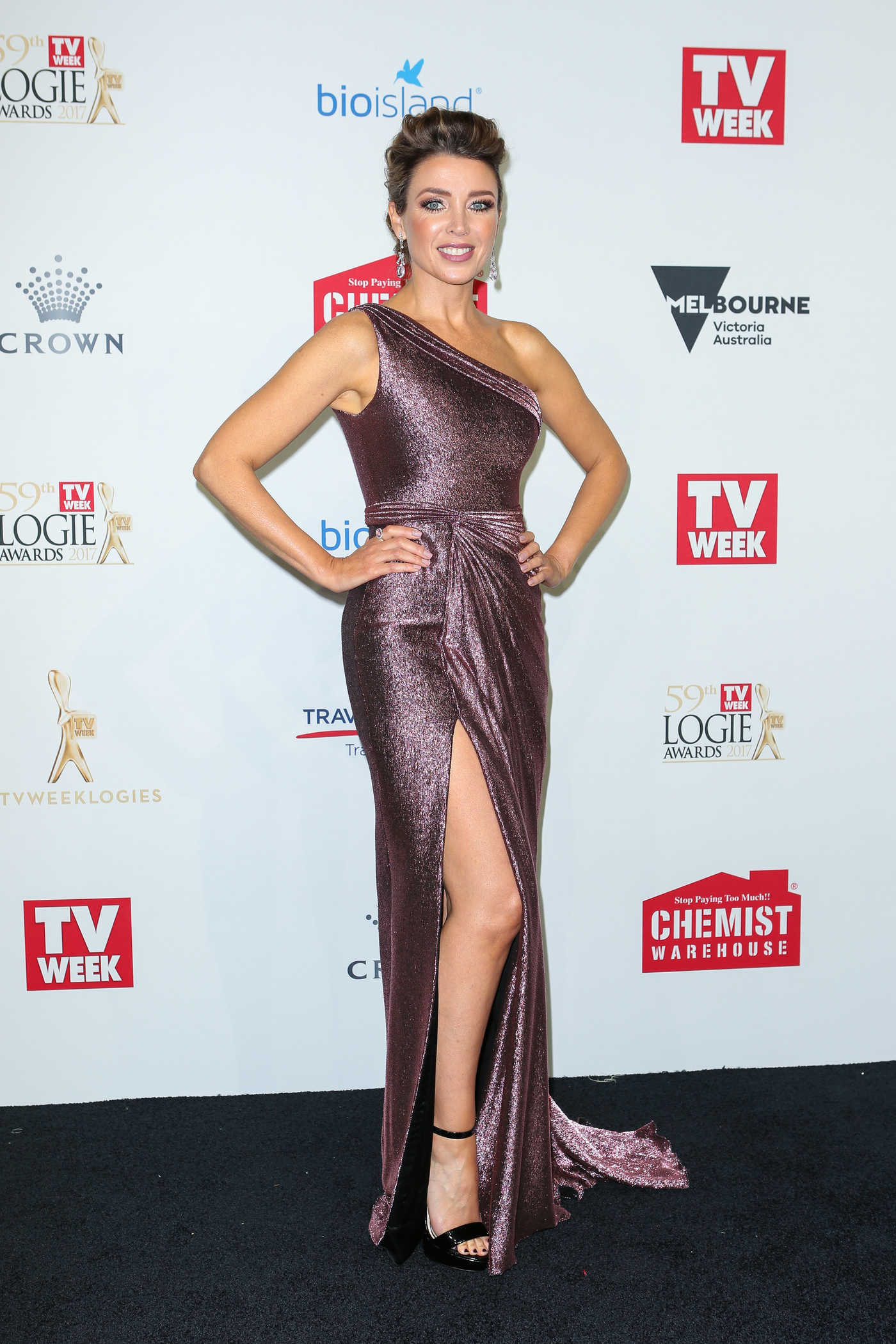 Dannii Minogue at the 59th Annual TV Week Logie Awards in Melbourne 04/23/2017
