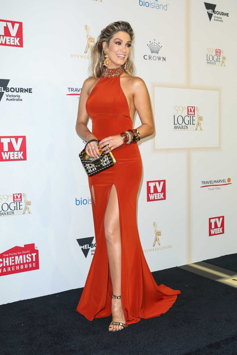 Delta Goodrem at the 59th Annual TV Week Logie Awards in Melbourne 04/23/2017-1