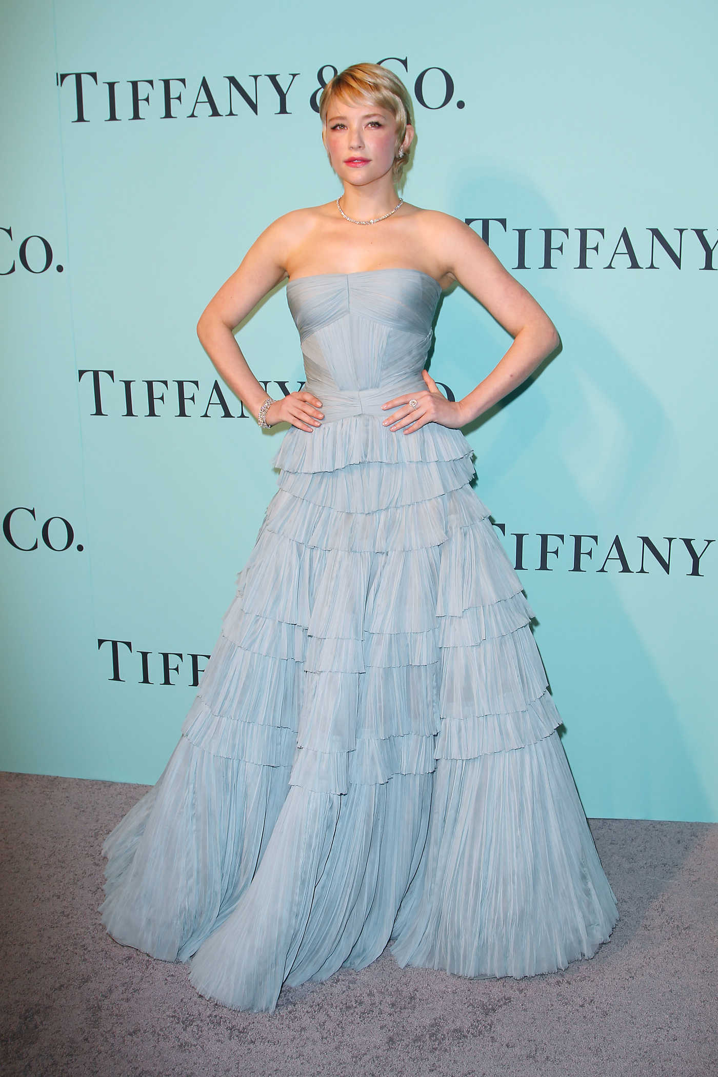 Haley Bennett at the Tiffany and Co. 2017 Blue Book Collection Gala in New York City 04/21/2017