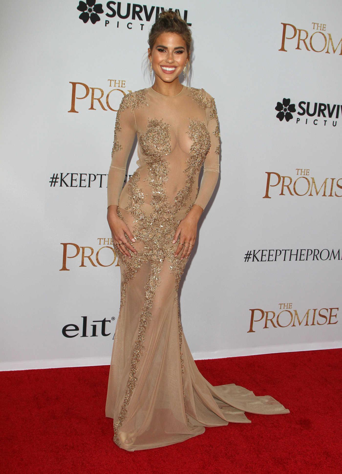 Kara Del Toro at The Promise Premiere in Los Angeles 04/12/2017