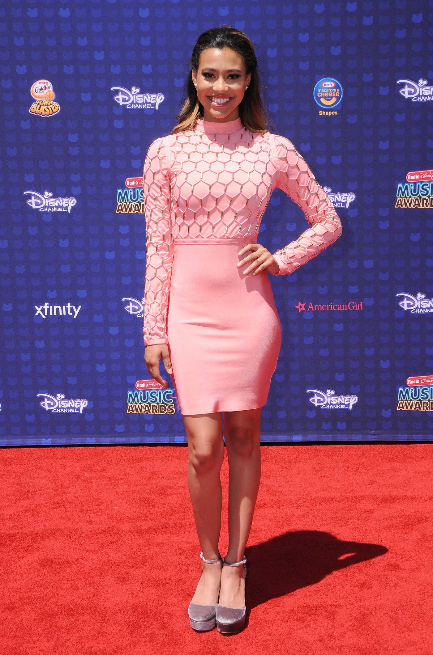 Kara Royster at the 2017 Radio Disney Music Awards in Los Angeles 04/29/2017