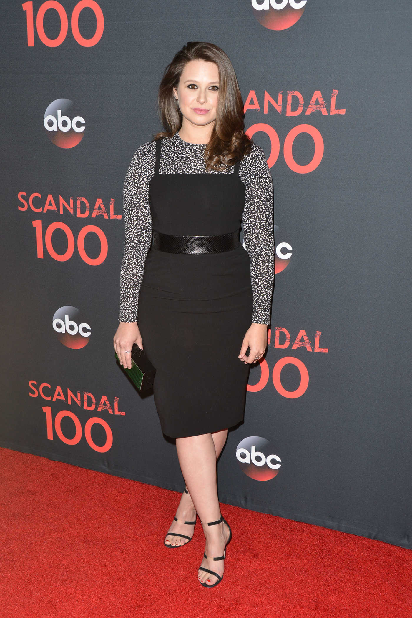 Katie Lowes at ABC's Scandal 100th Episode Celebration in West Hollywood 04/08/2017