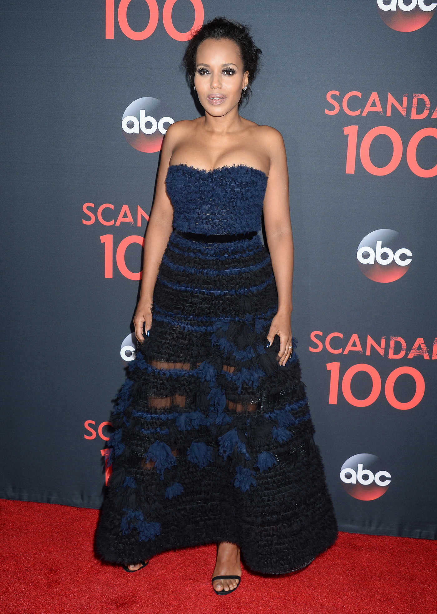 Kerry Washington at ABC's Scandal 100th Episode Celebration in West Hollywood 04/08/2017