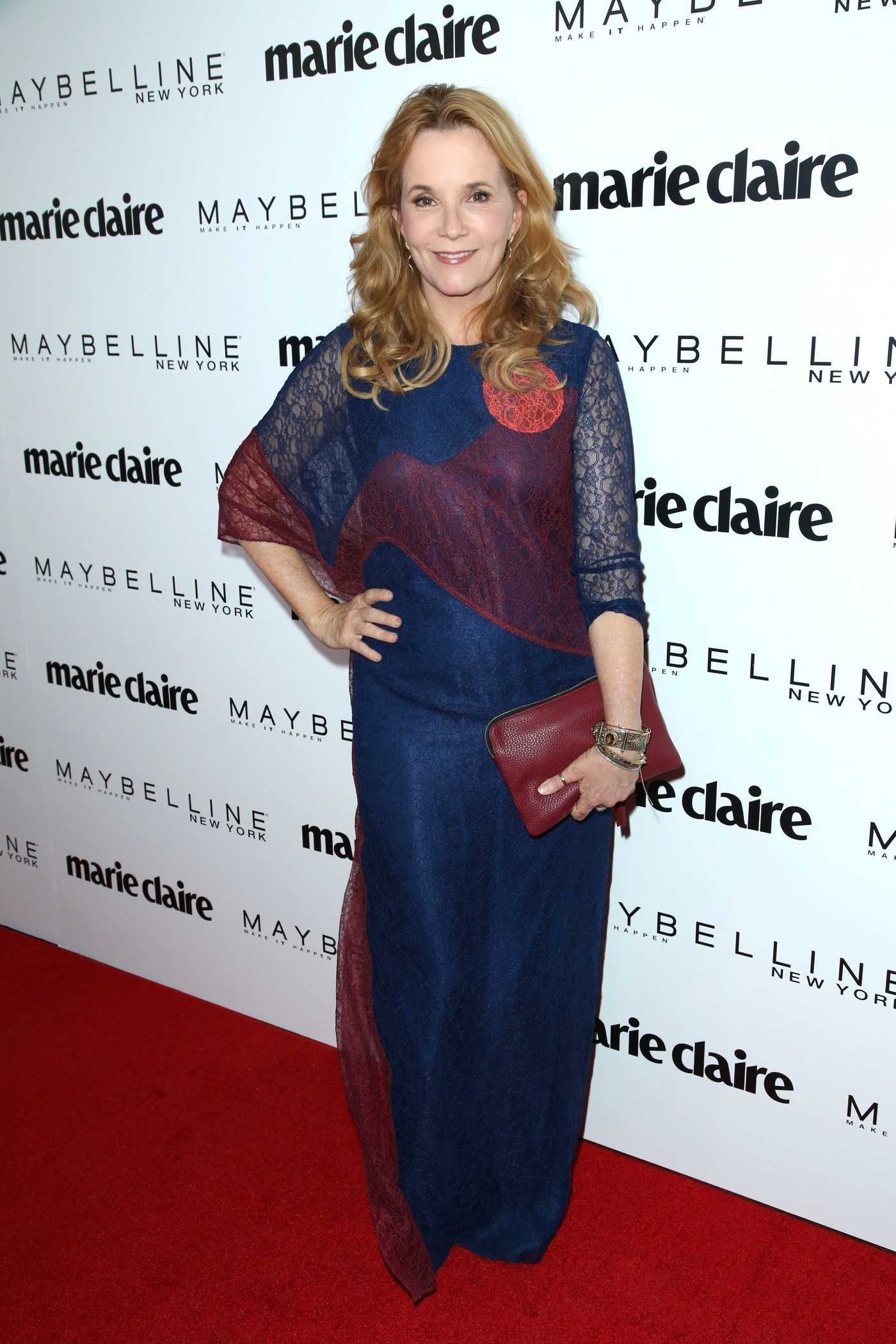 Lea Thompson at the Women in Film Crystal and Lucy Awards in Los Angeles 06/13/2017