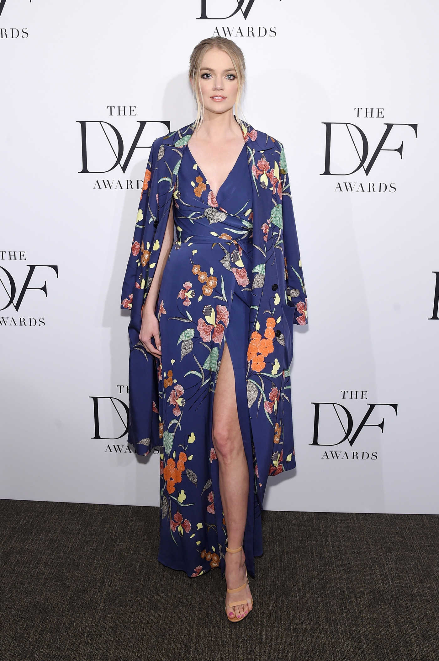 Lindsay Ellingson at the 2017 DVF Awards in New York 04/06/2017