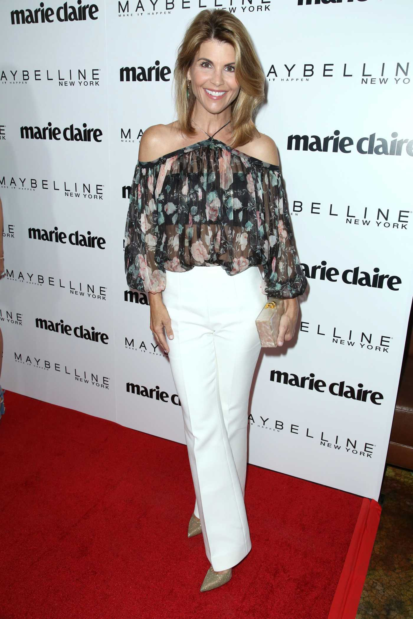 Lori Loughlin at the Marie Claire Celebrates Fresh Faces Event in Los Angeles 04/21/2017