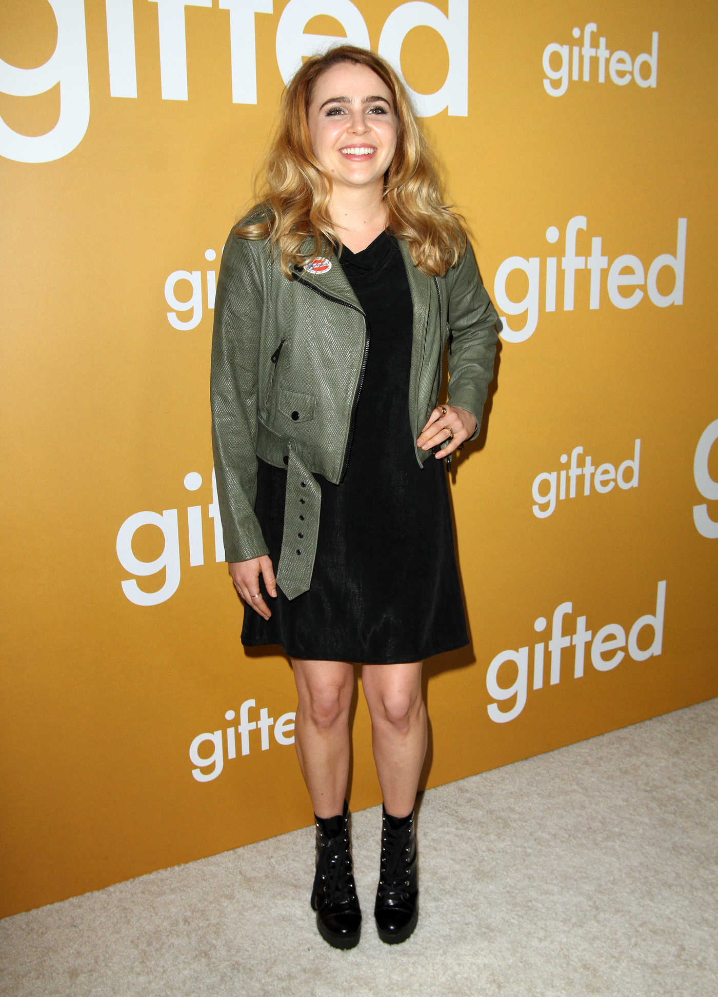 Mae Whitman at the Gifted Premiere in Los Anegeles 04/04/2017